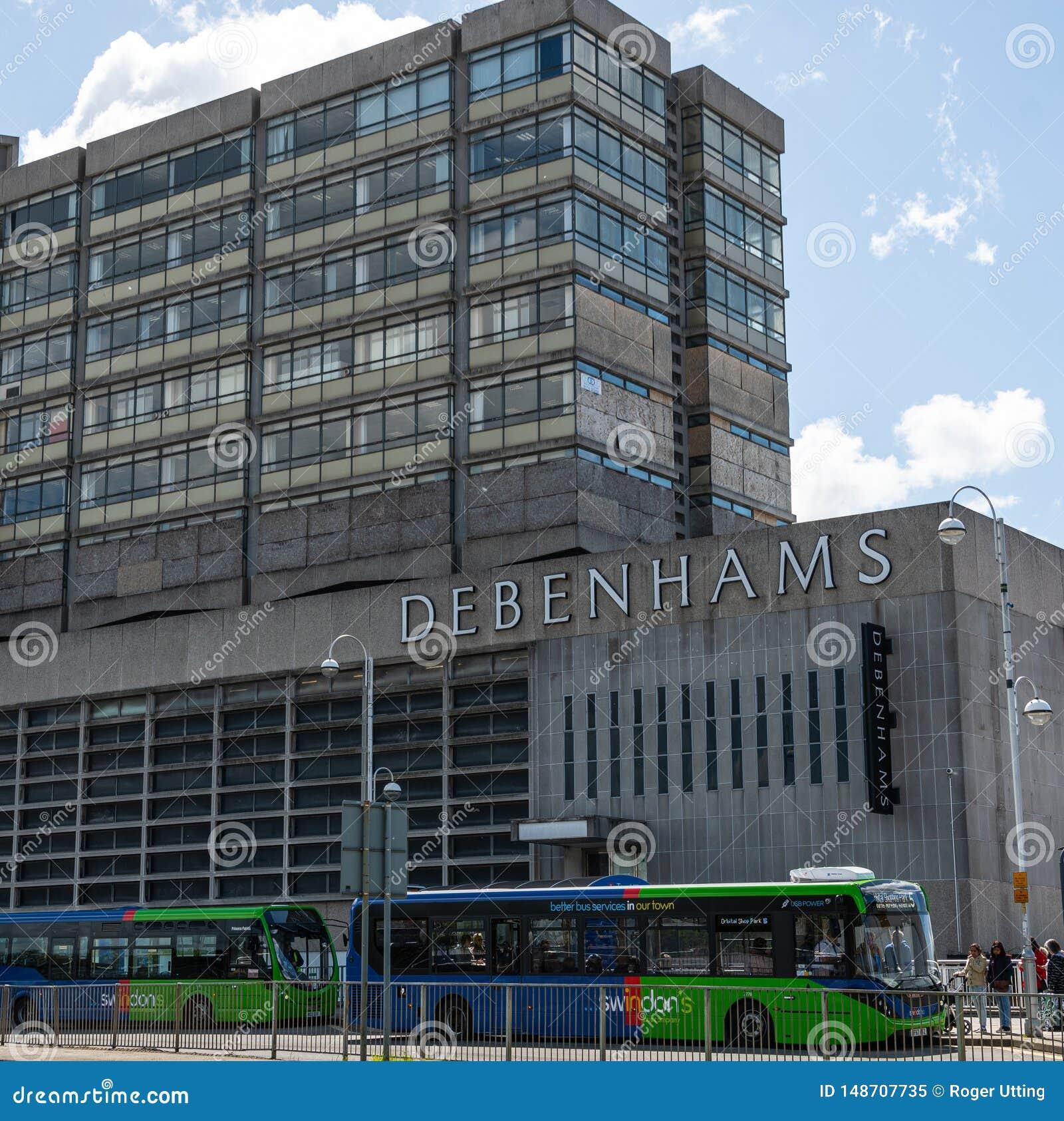 Grandes almacenes Swindon de Debenhams
