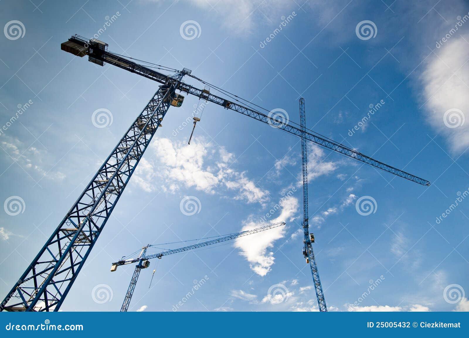 Grandes grues de construction