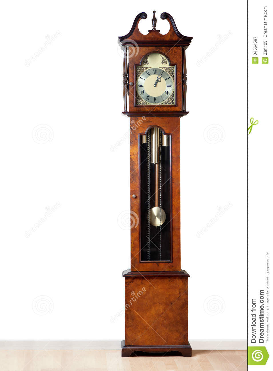 Grandfather Clock Stock Image Image Of Numeral Elegant