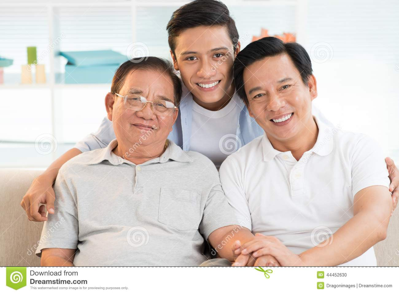 Father and grand father