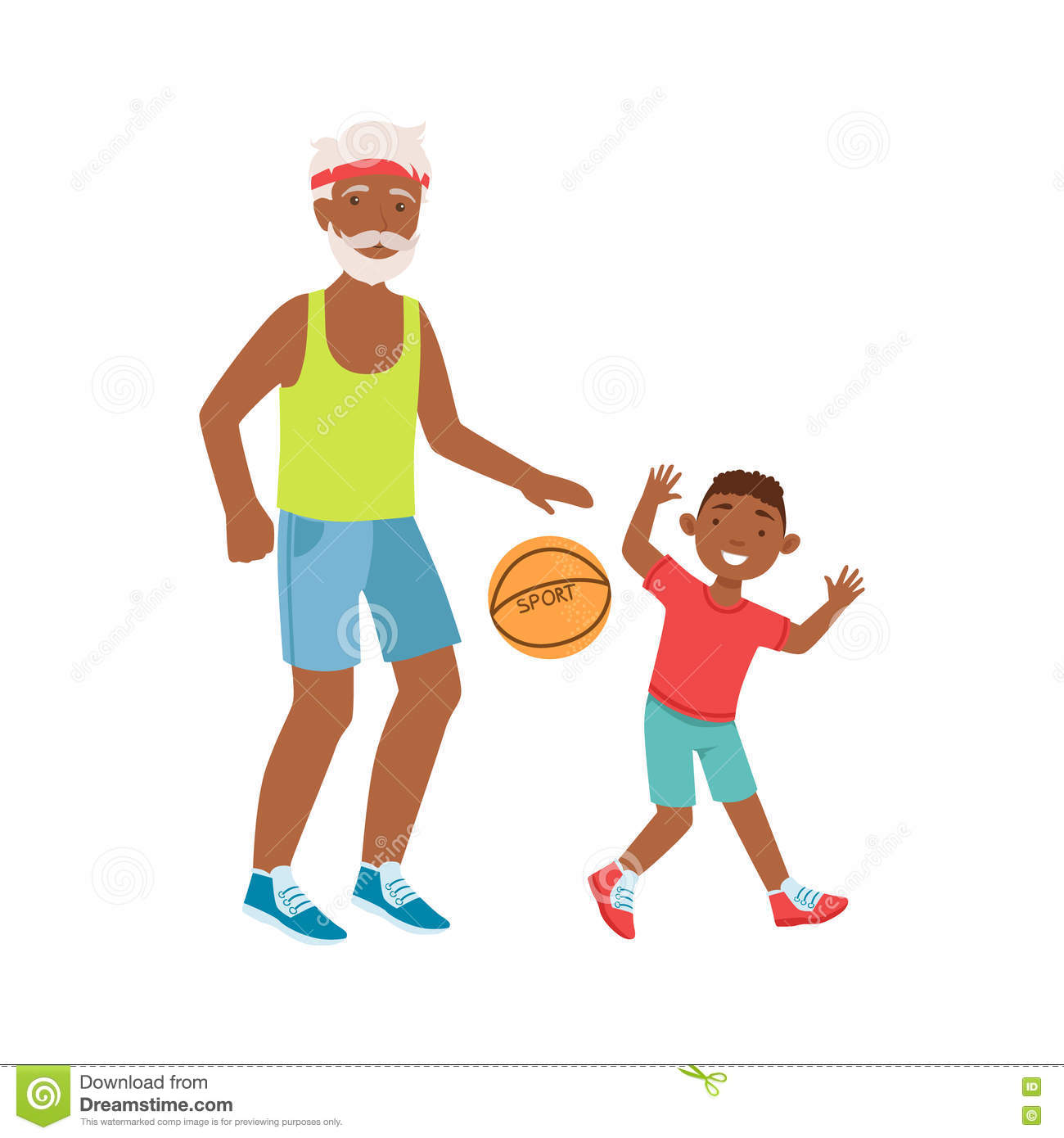cartoon basketball player passing the ball clipart. Commercial use GIF,  WMF, SVG clipart # 168224   Graphics Factory