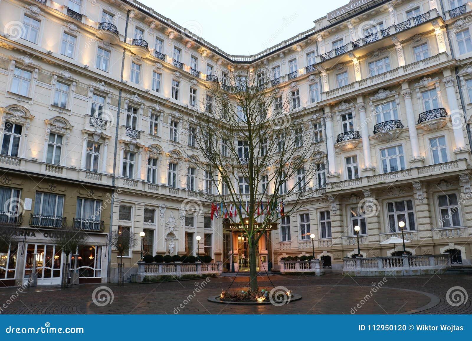 Grandhotel Pupp Karlovy Vary Editorial Image Image Of Luxury International 112950120