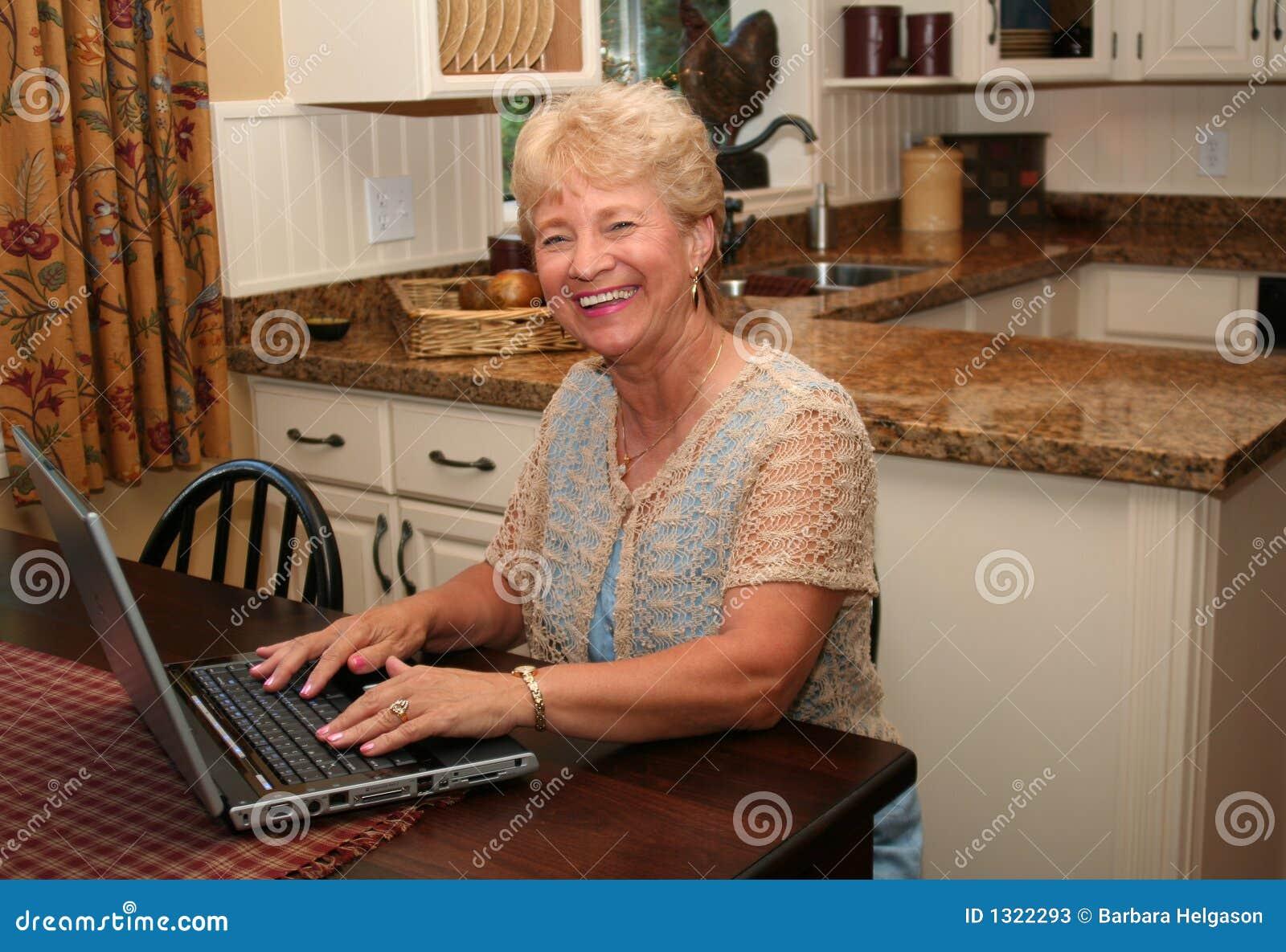 Grandma on-line