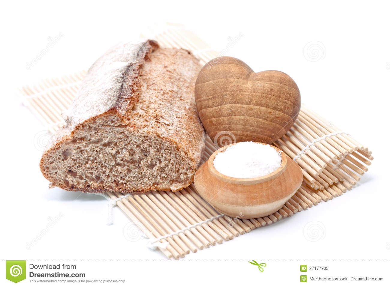 grandmother with fresh baked loaf of bread stock photo 31732584. Black Bedroom Furniture Sets. Home Design Ideas