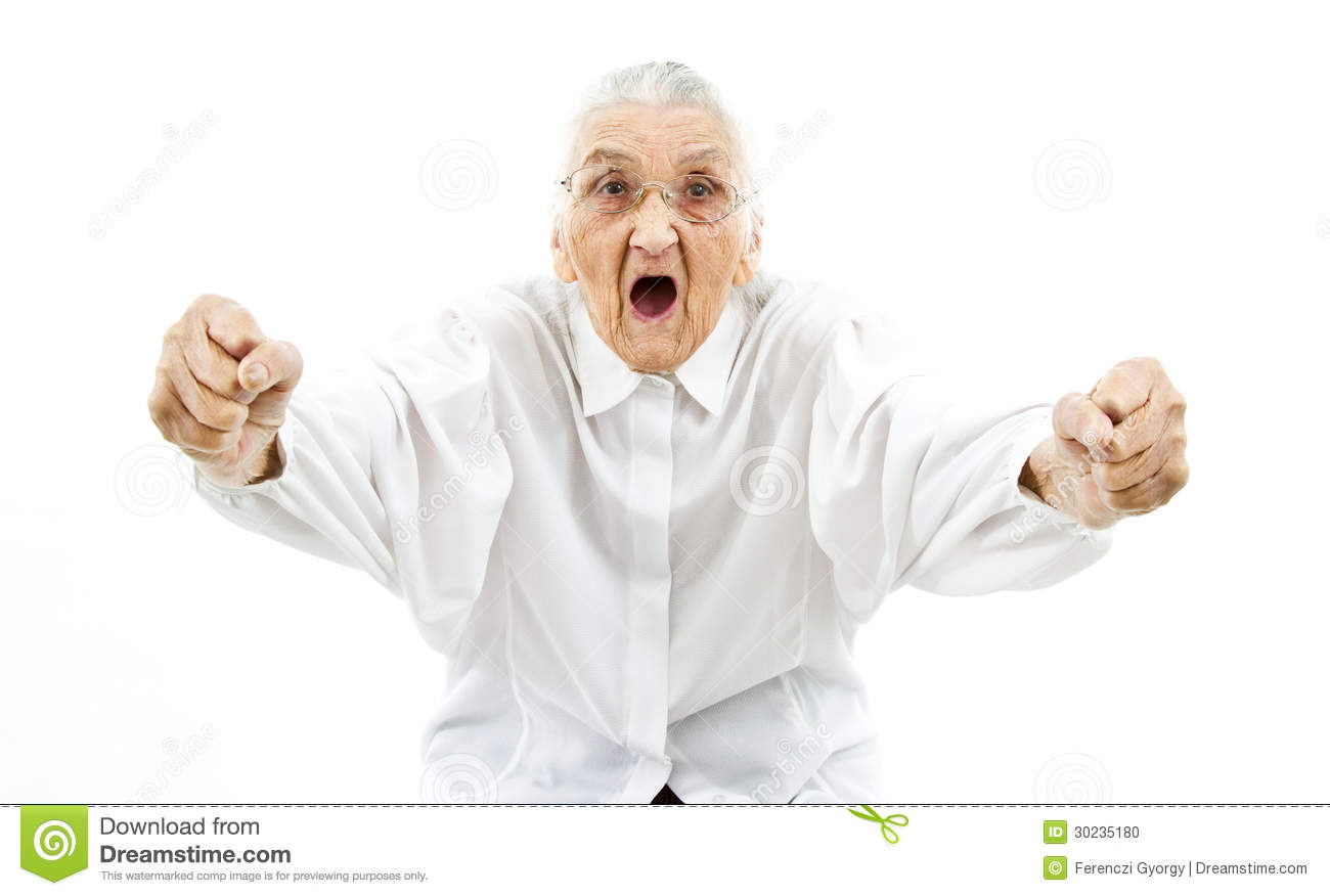 funny grandma as a supporter stock photo image 30235180 grandmother clipart india grandmother clip art images free