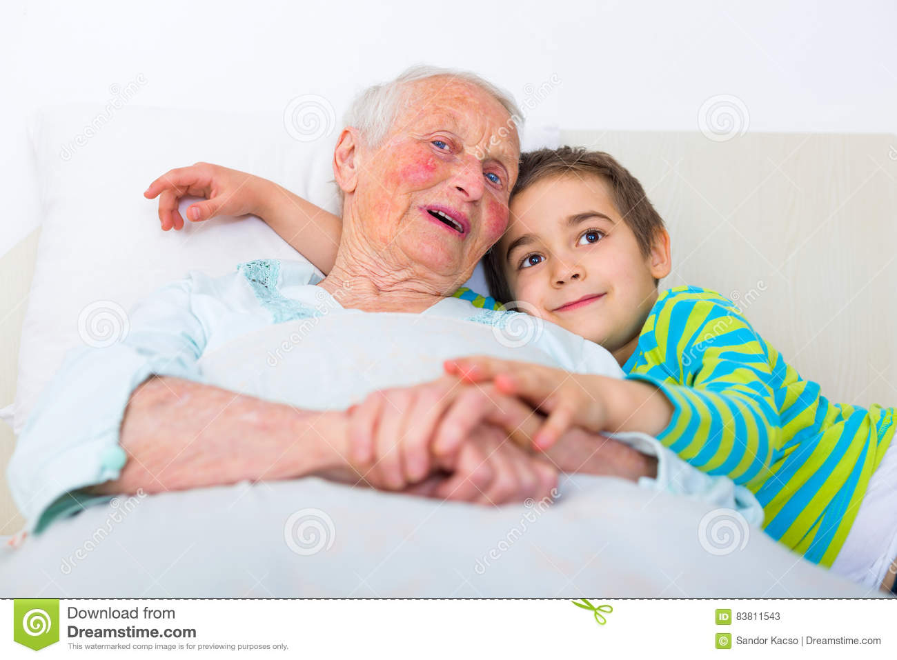 Are not grandma and grandson stories