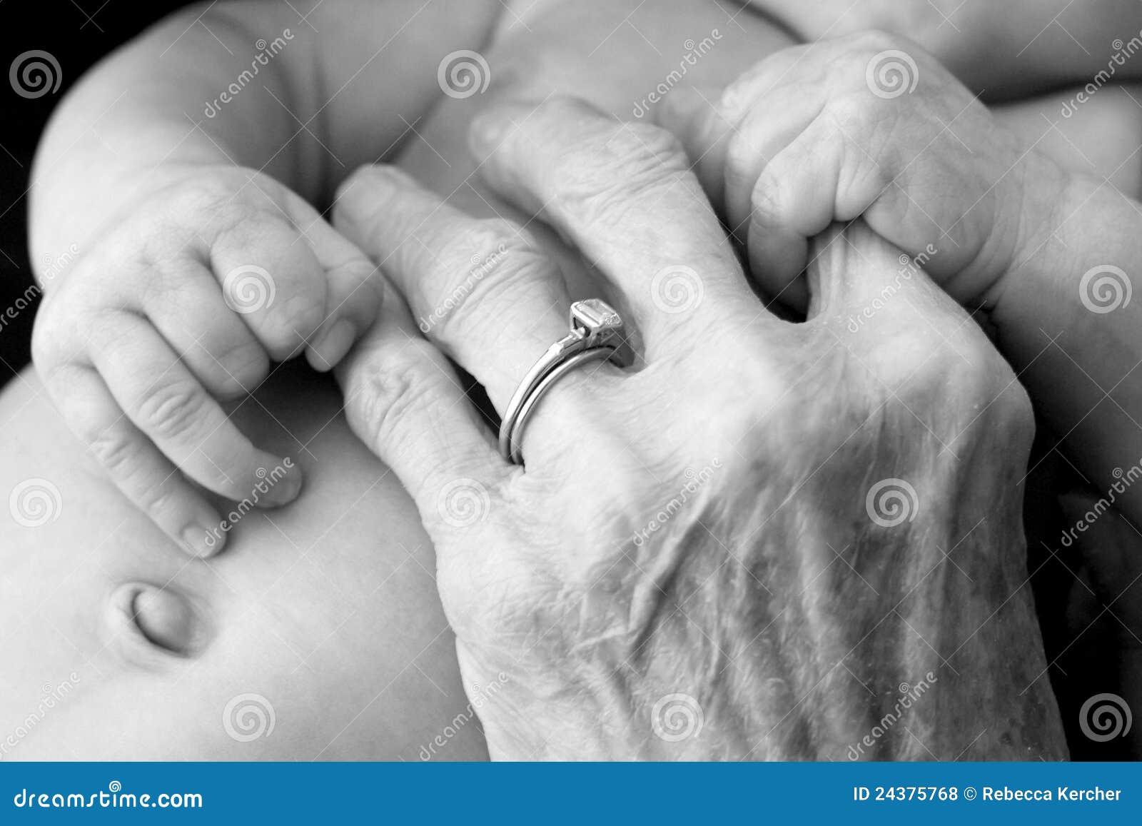 Grandmother s hands