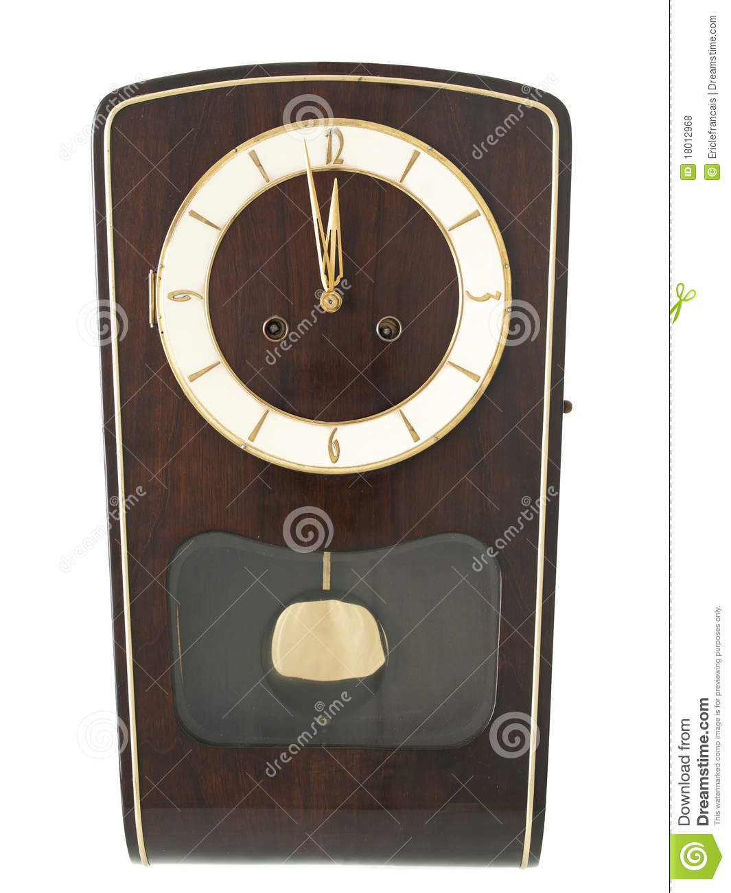 Grandmother Wall Clock Stock Photo Image Of Antique 18012968