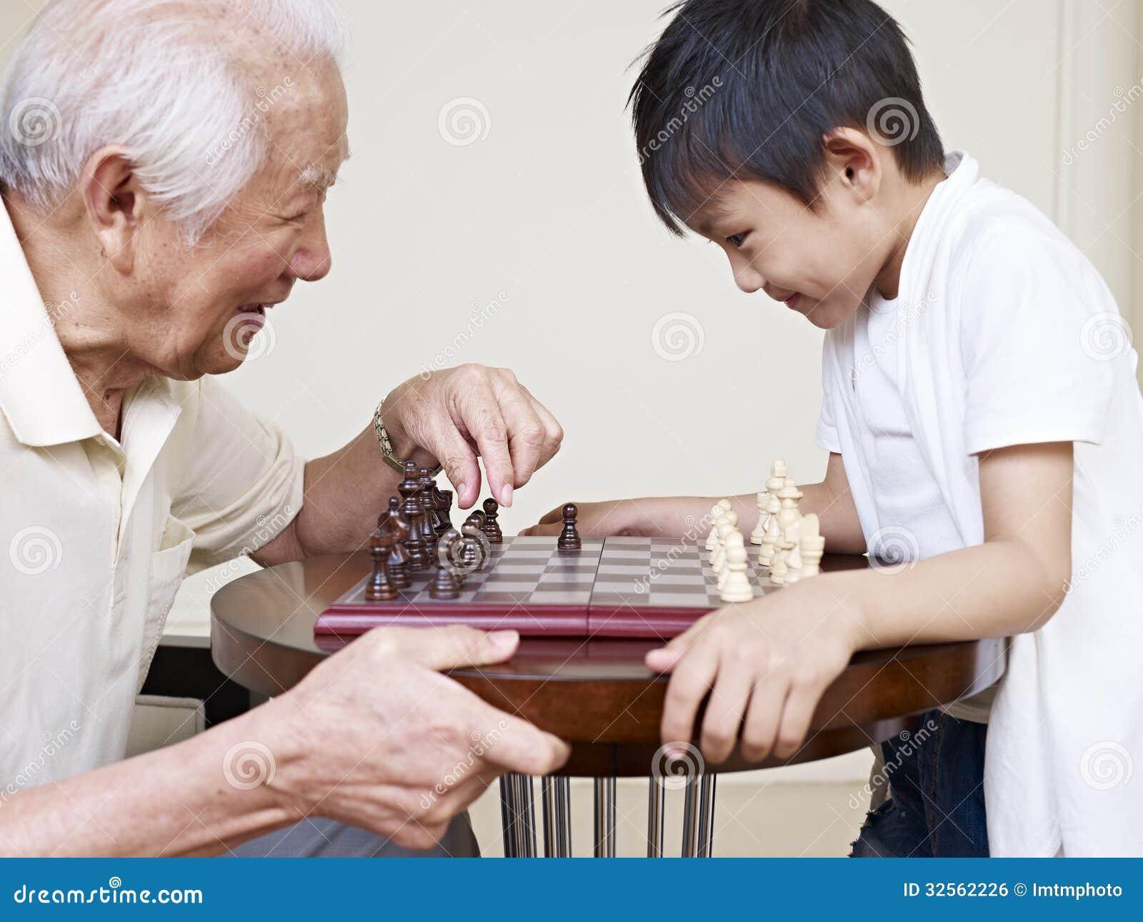 Grandpa και εγγονός