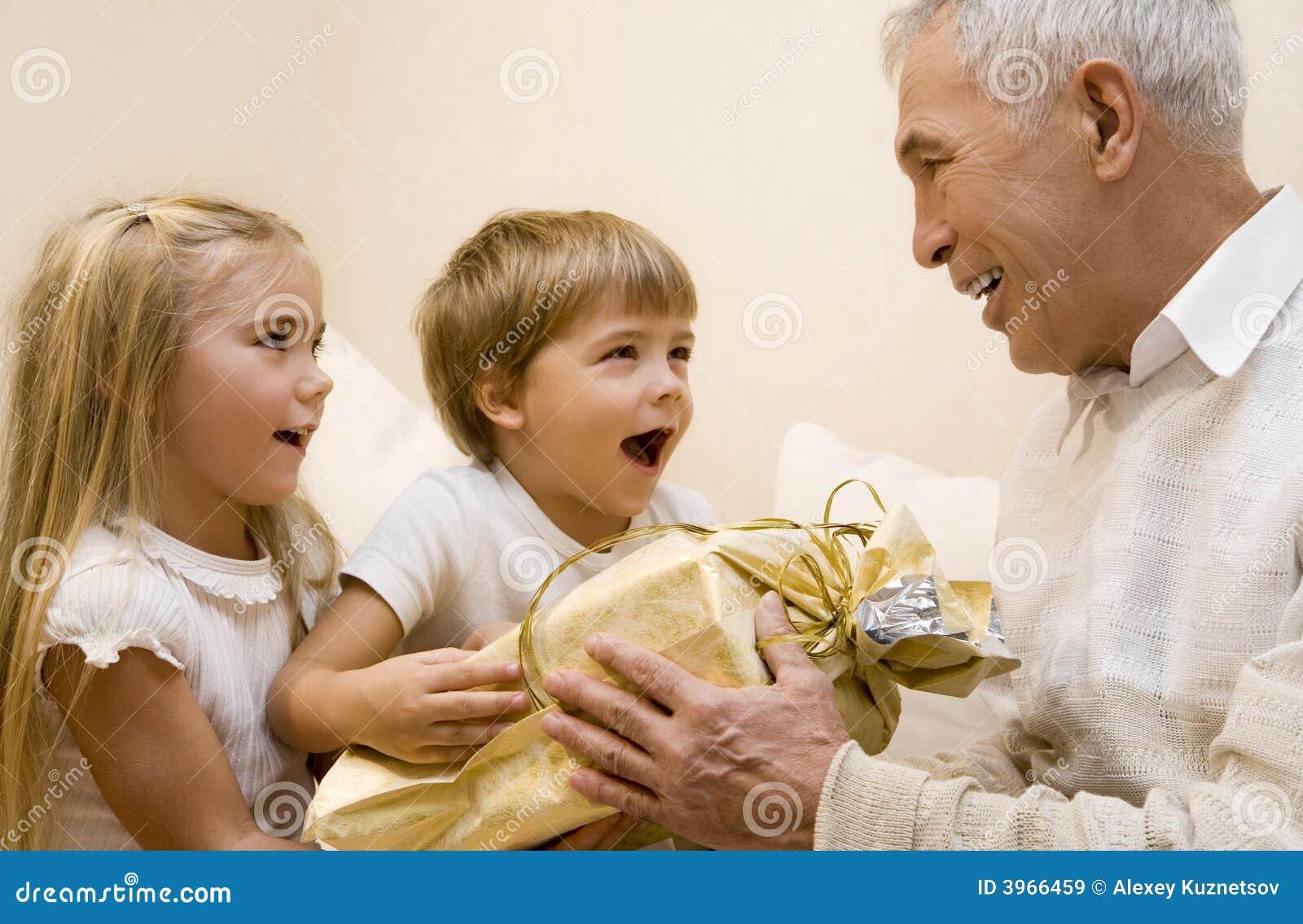 Успел куни для внучки отголоски его