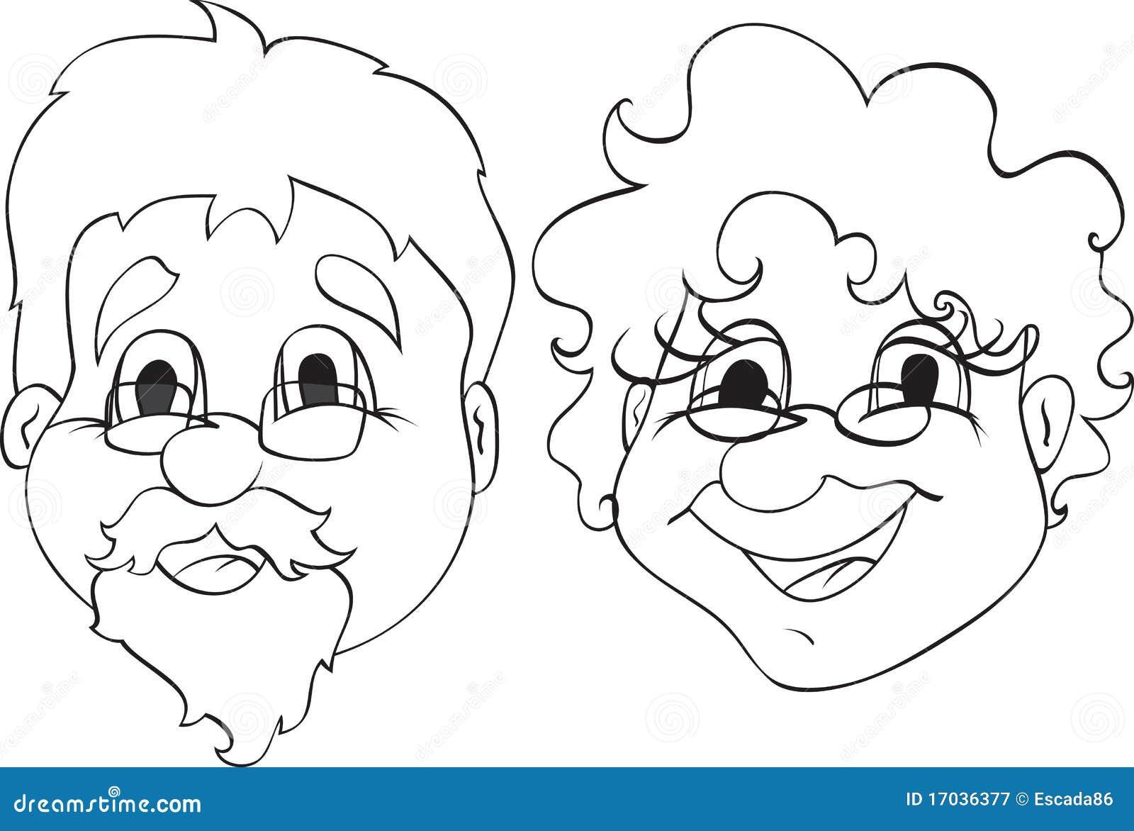 grandpa and grandma royalty free stock photography image 17036377