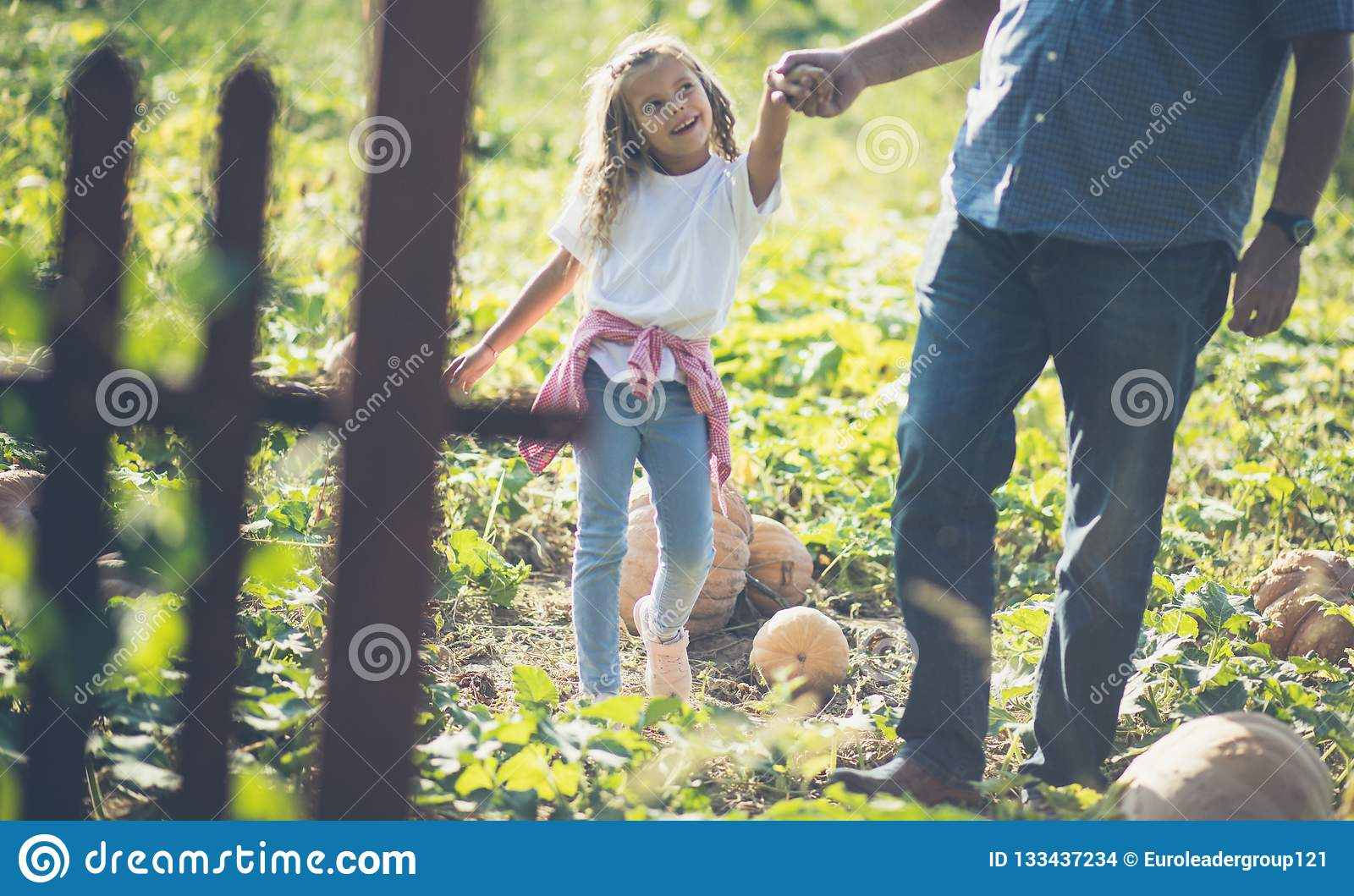 Grandpa, I enjoy with you when we are in the countryside