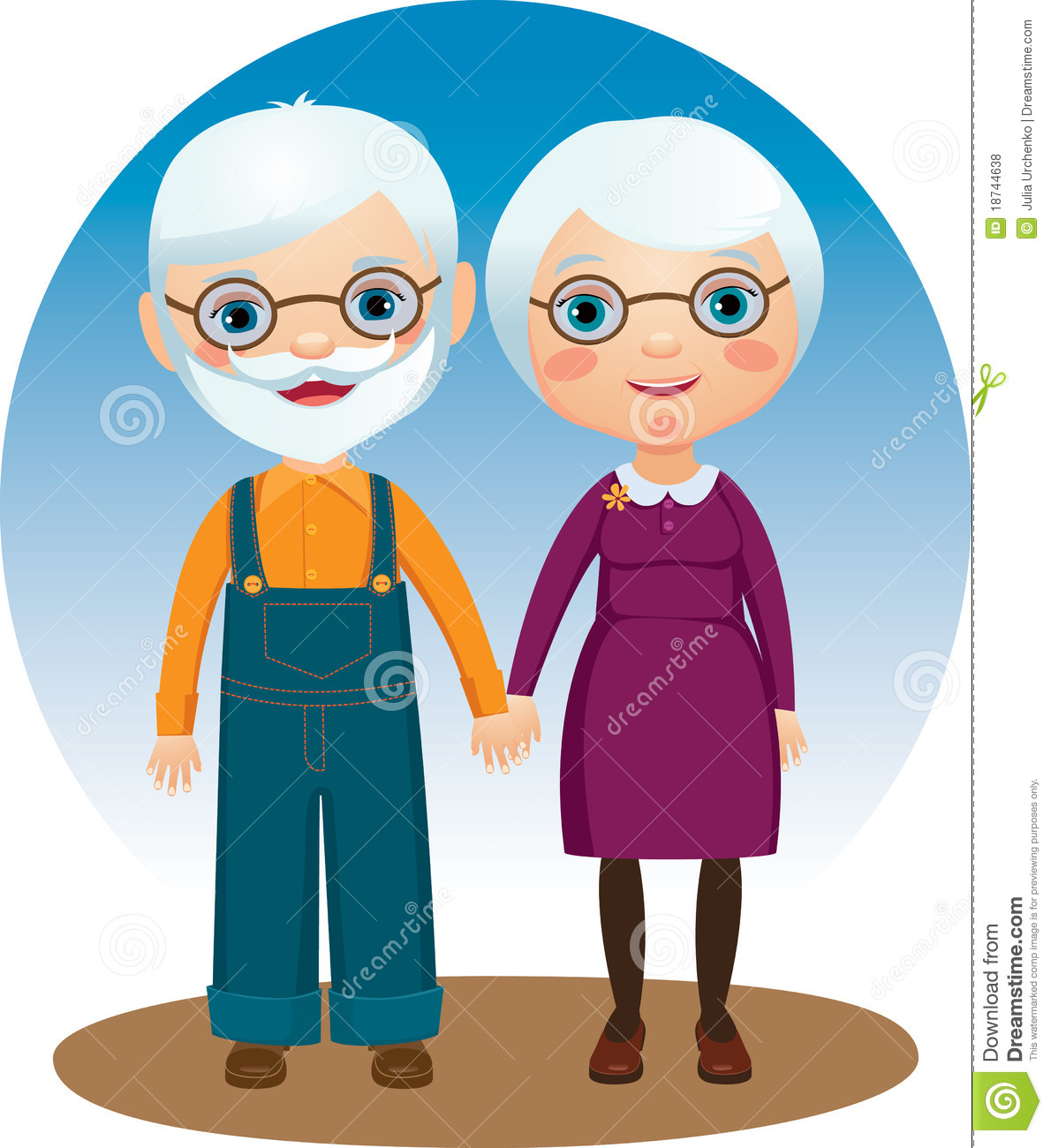 Grandparents Royalty Free Stock Photos - Image: 18744638