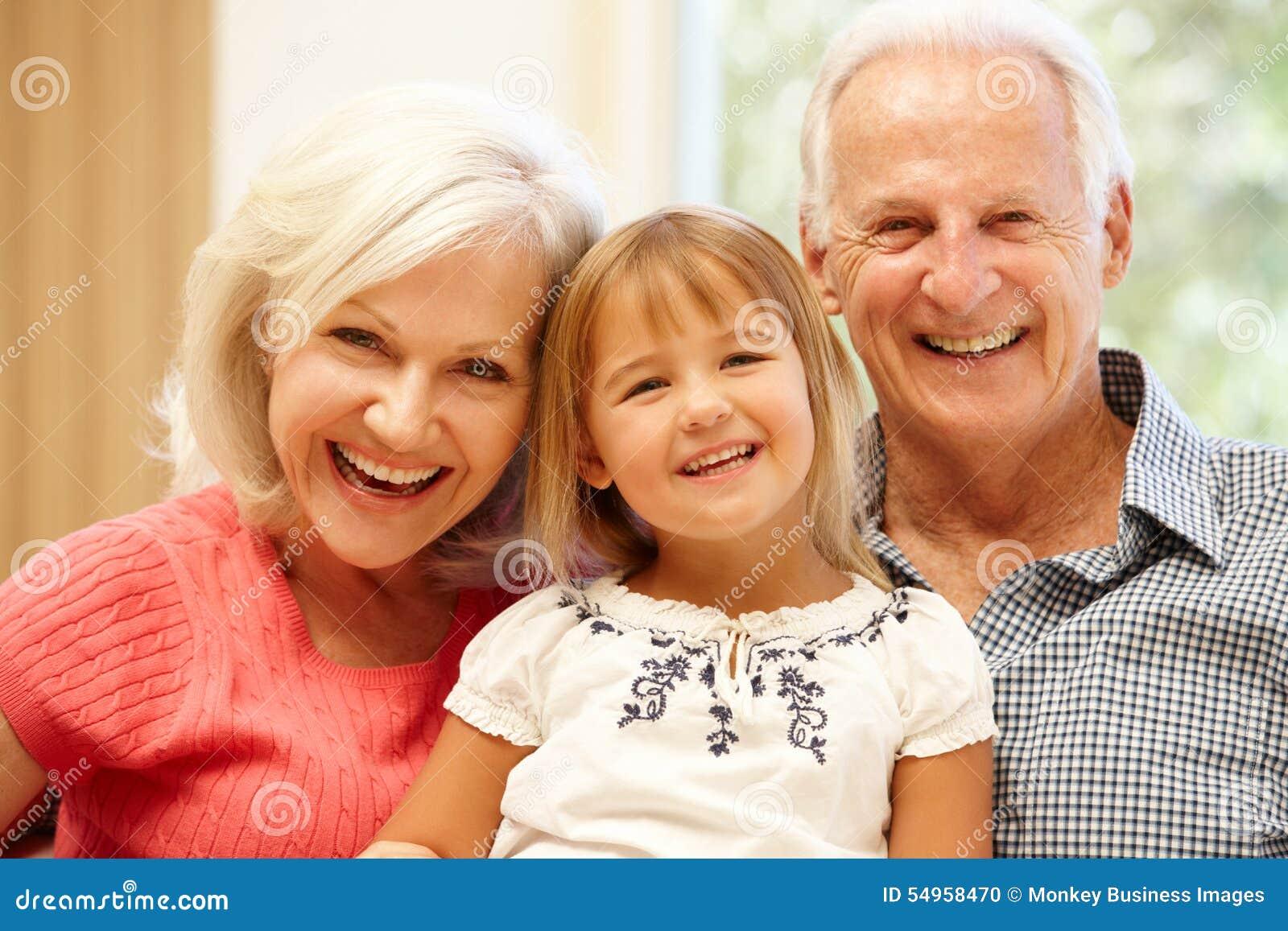 grandparents and grandchild stock photo image of child family