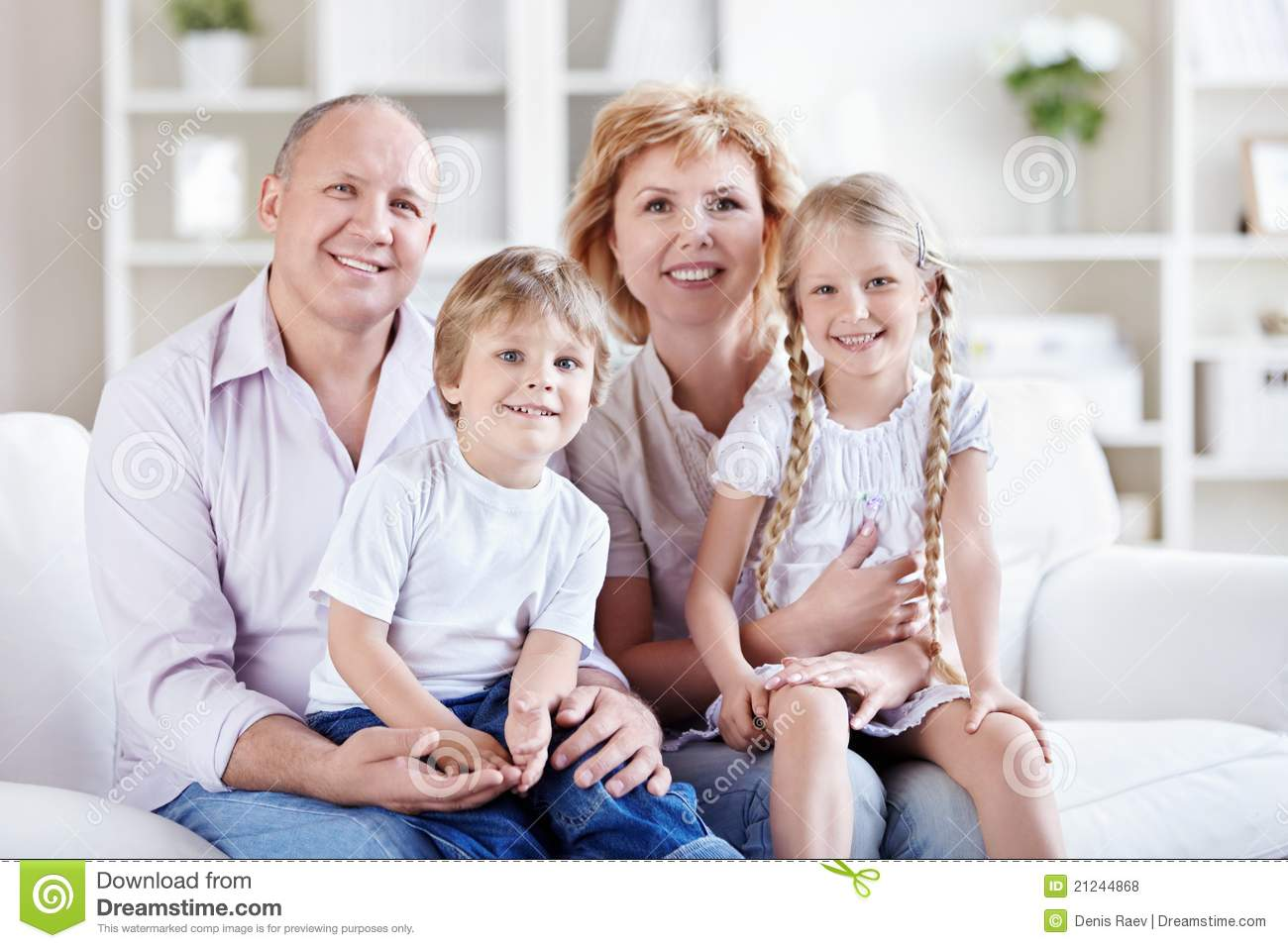 Grandparents With Grandchildren Royalty Free Stock Photos ...
