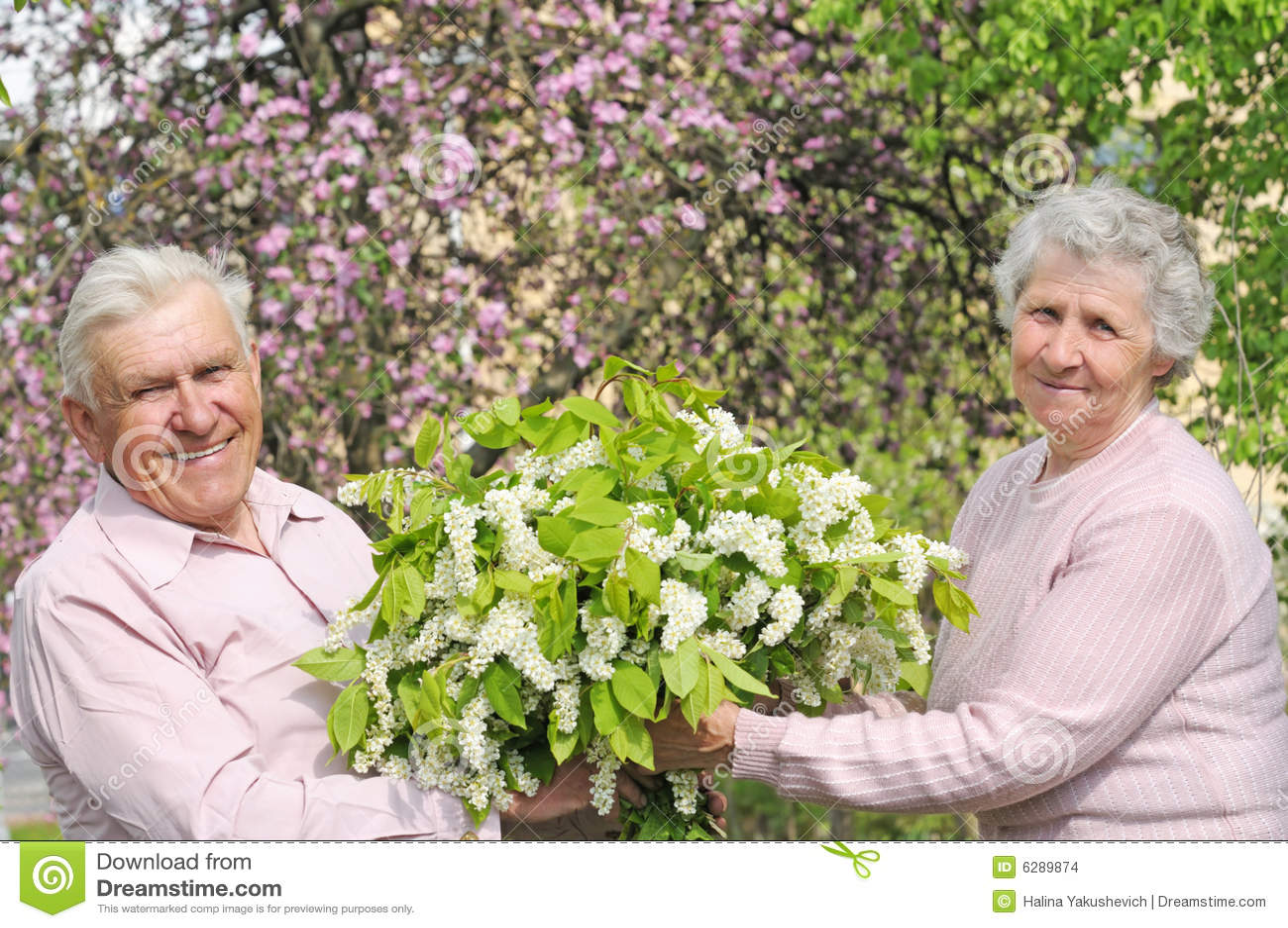 Grandparents happy