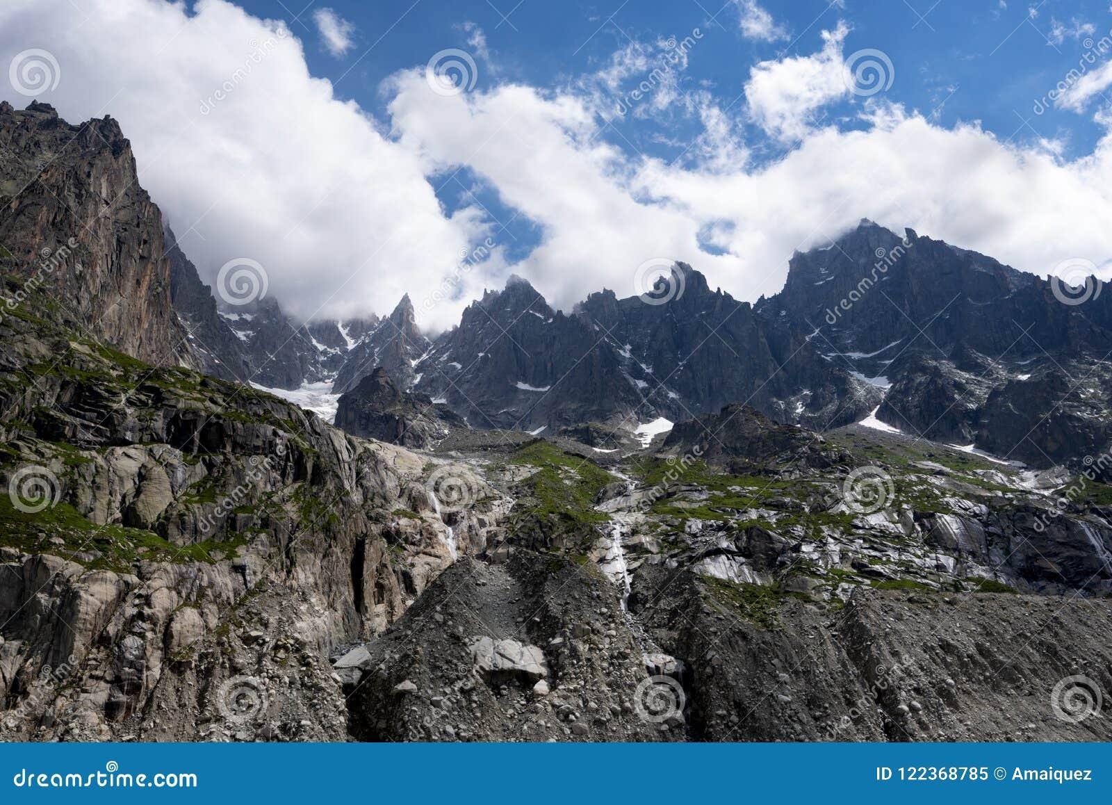 Grands Charmoz 3455m de DES d Aiguille