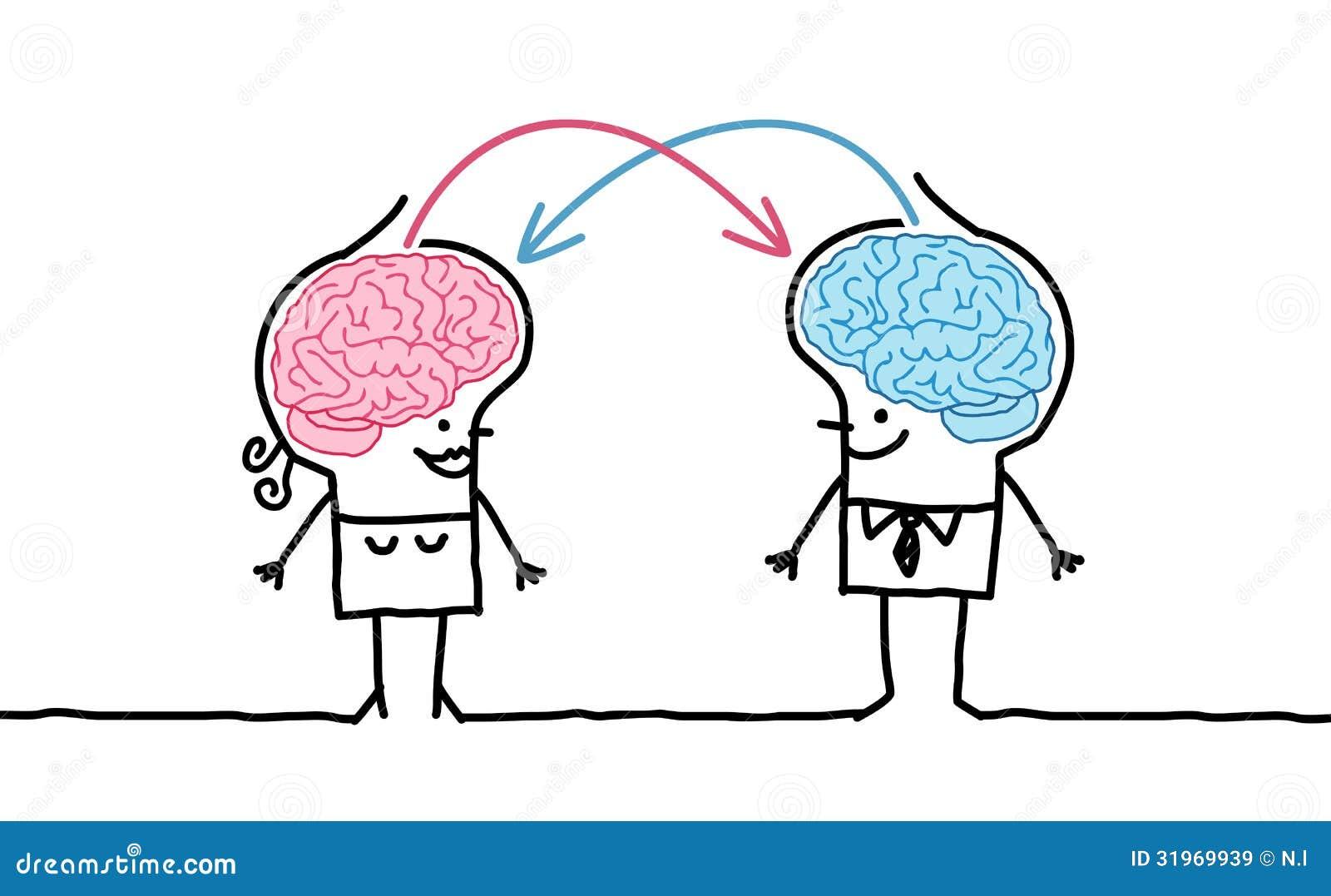 Grands couples et échange de cerveau
