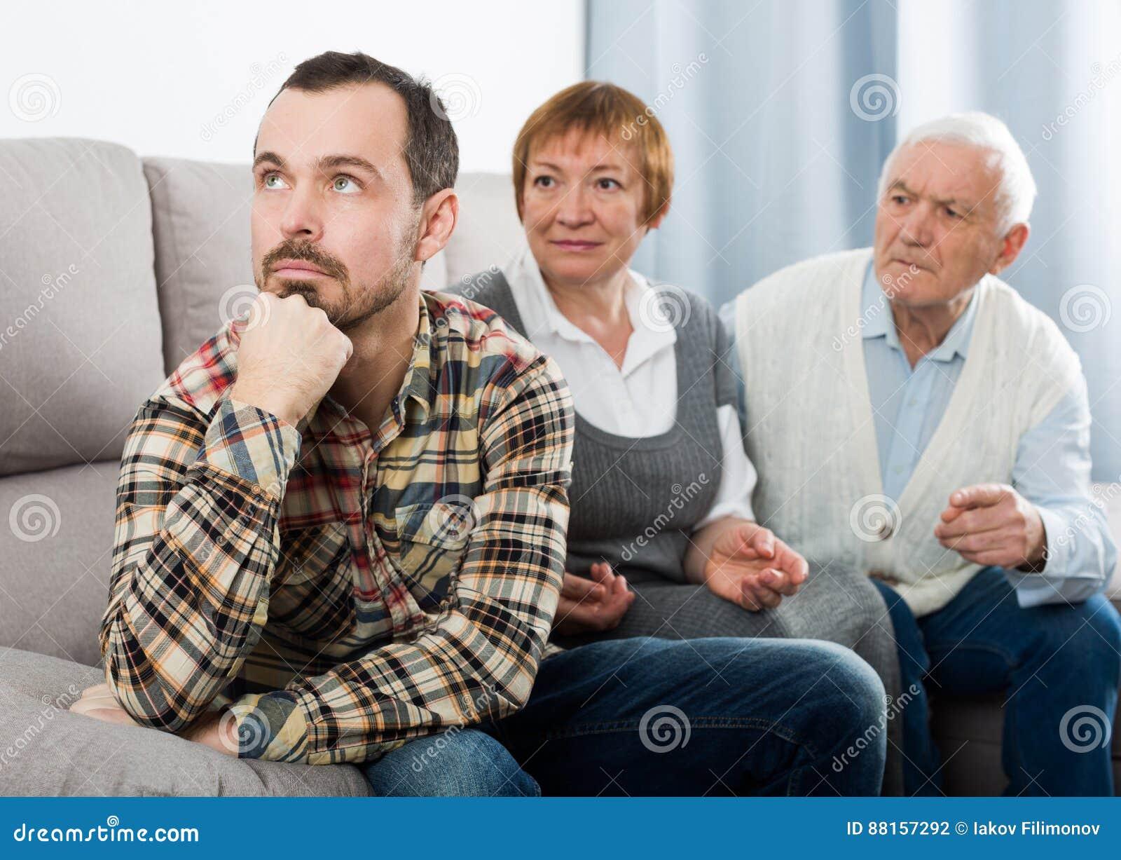Grands-parents et entretien sérieux de petit-fils