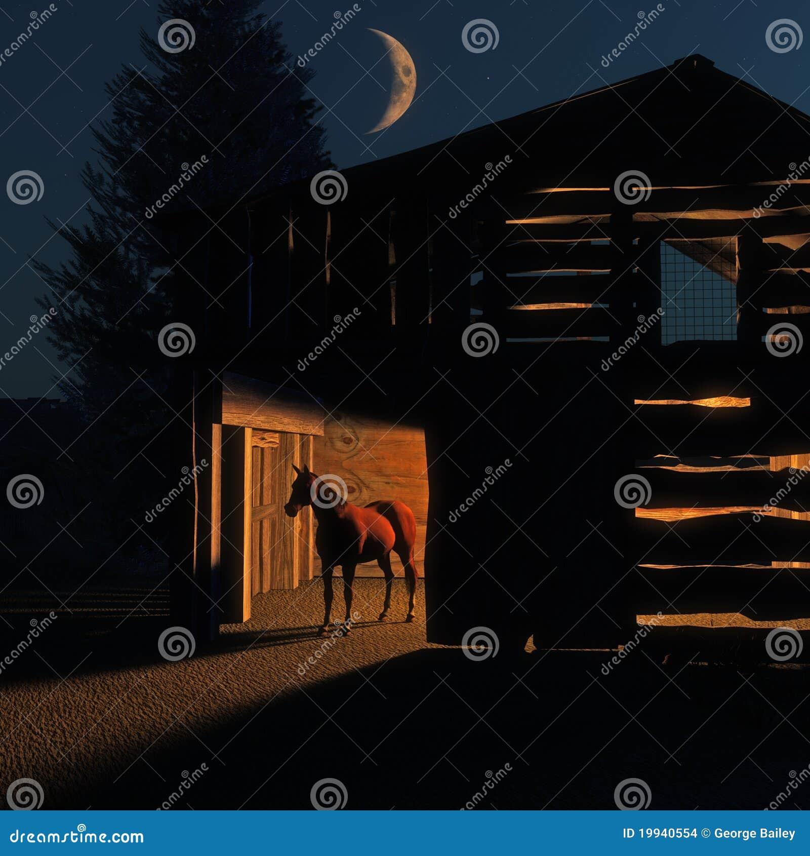Granero de caballo