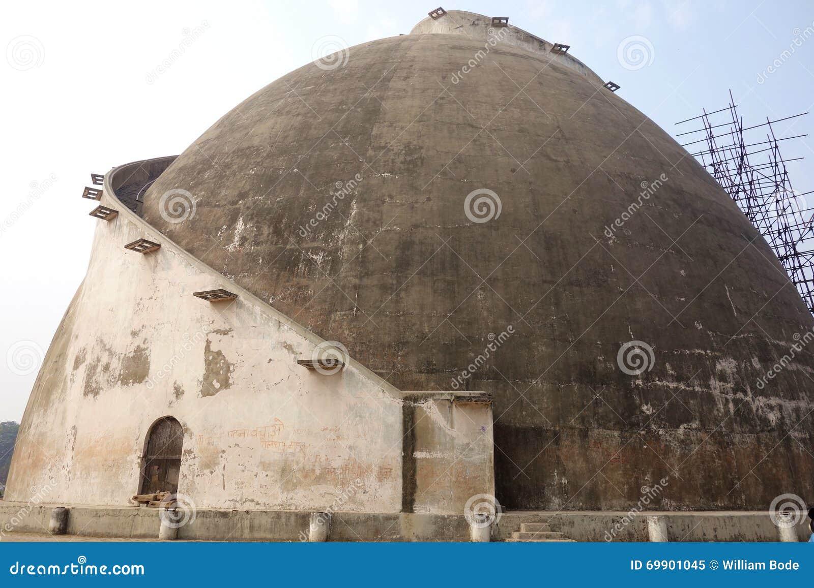 Granero de Golghar en Patna la India