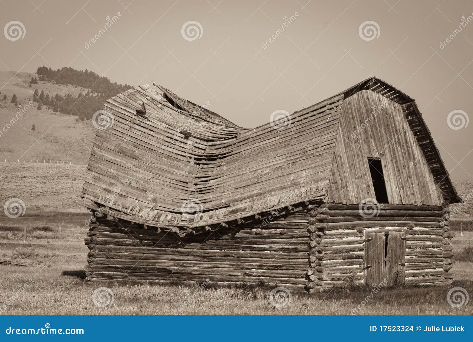 Granero viejo de Montana