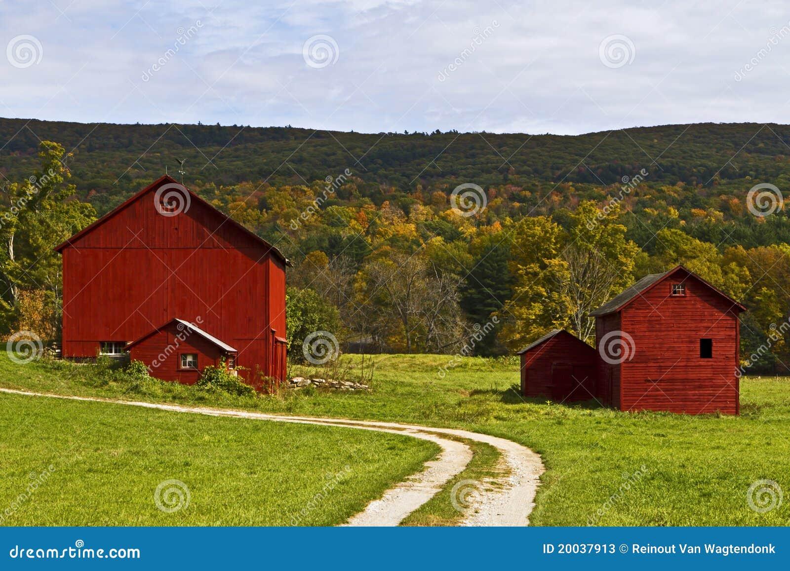 Granges de la Nouvelle Angleterre