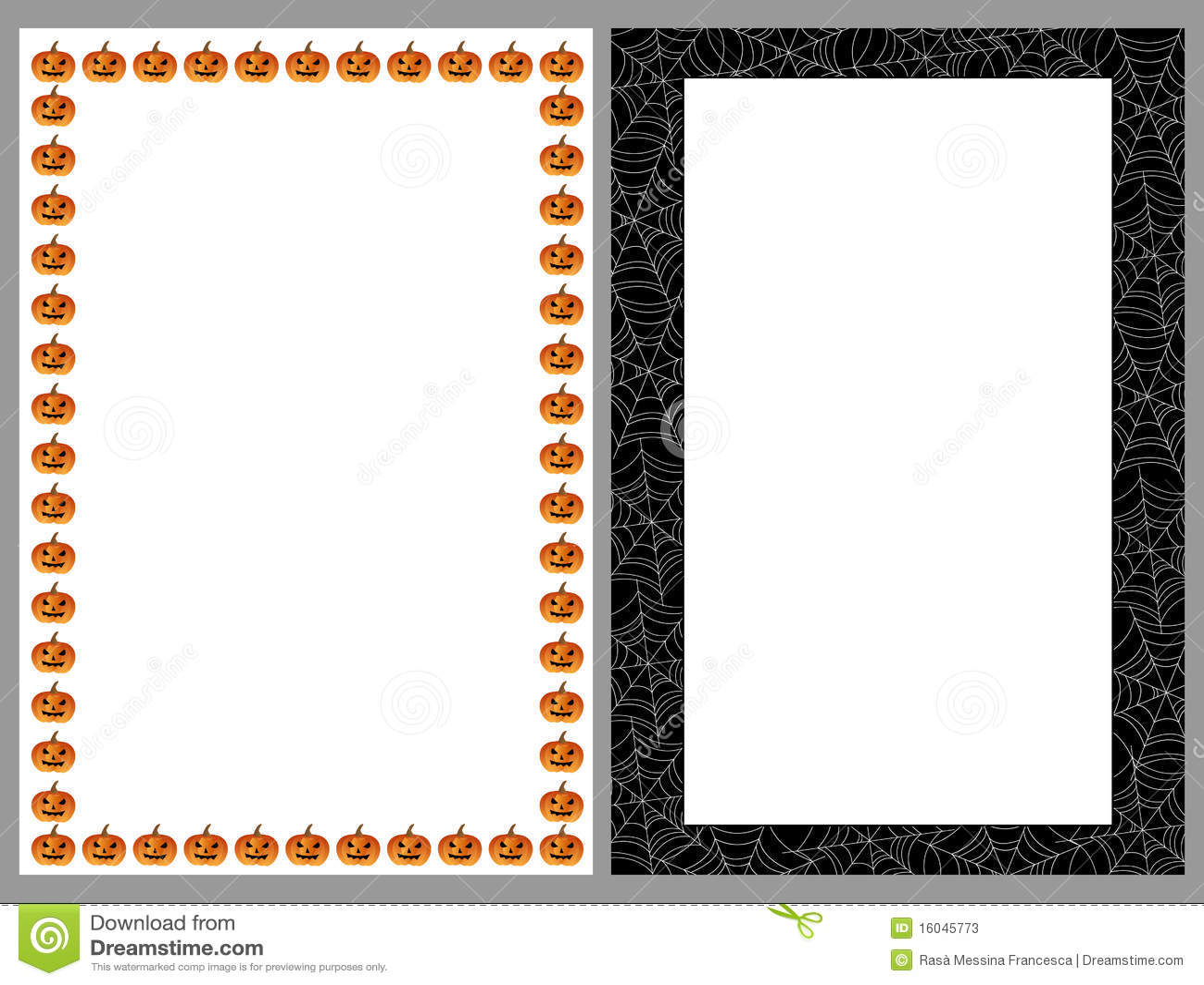 Granic ramy Halloween