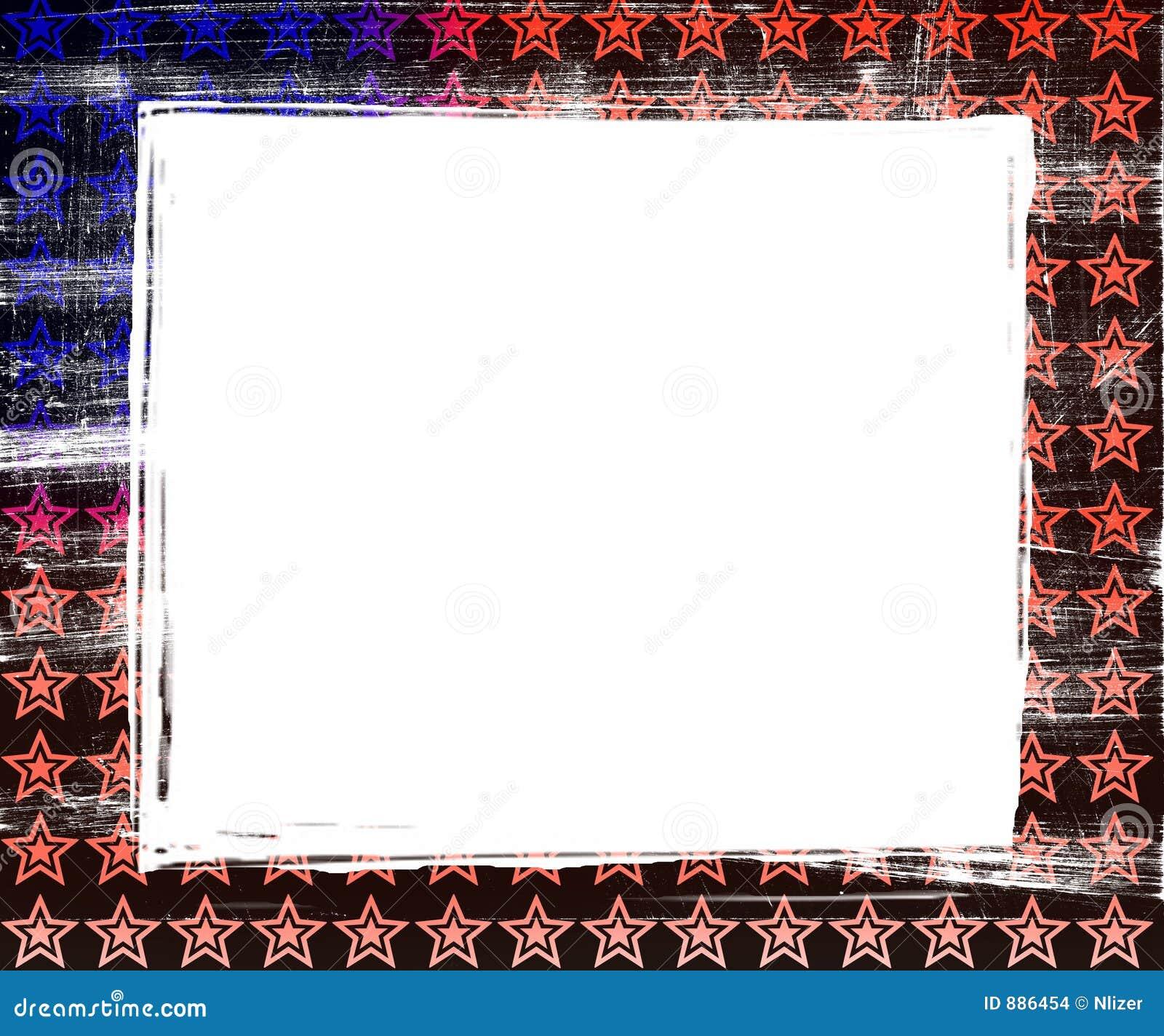 Granice tła flagi ramy crunch