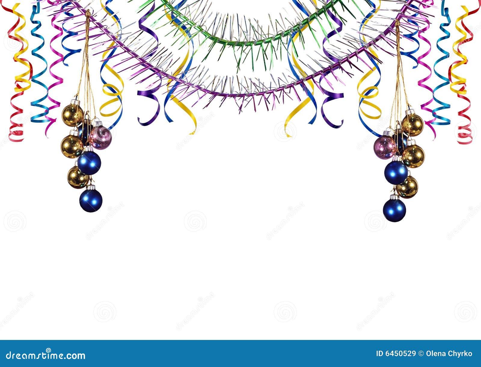 Graniczne dekoracje świąteczne drzewne