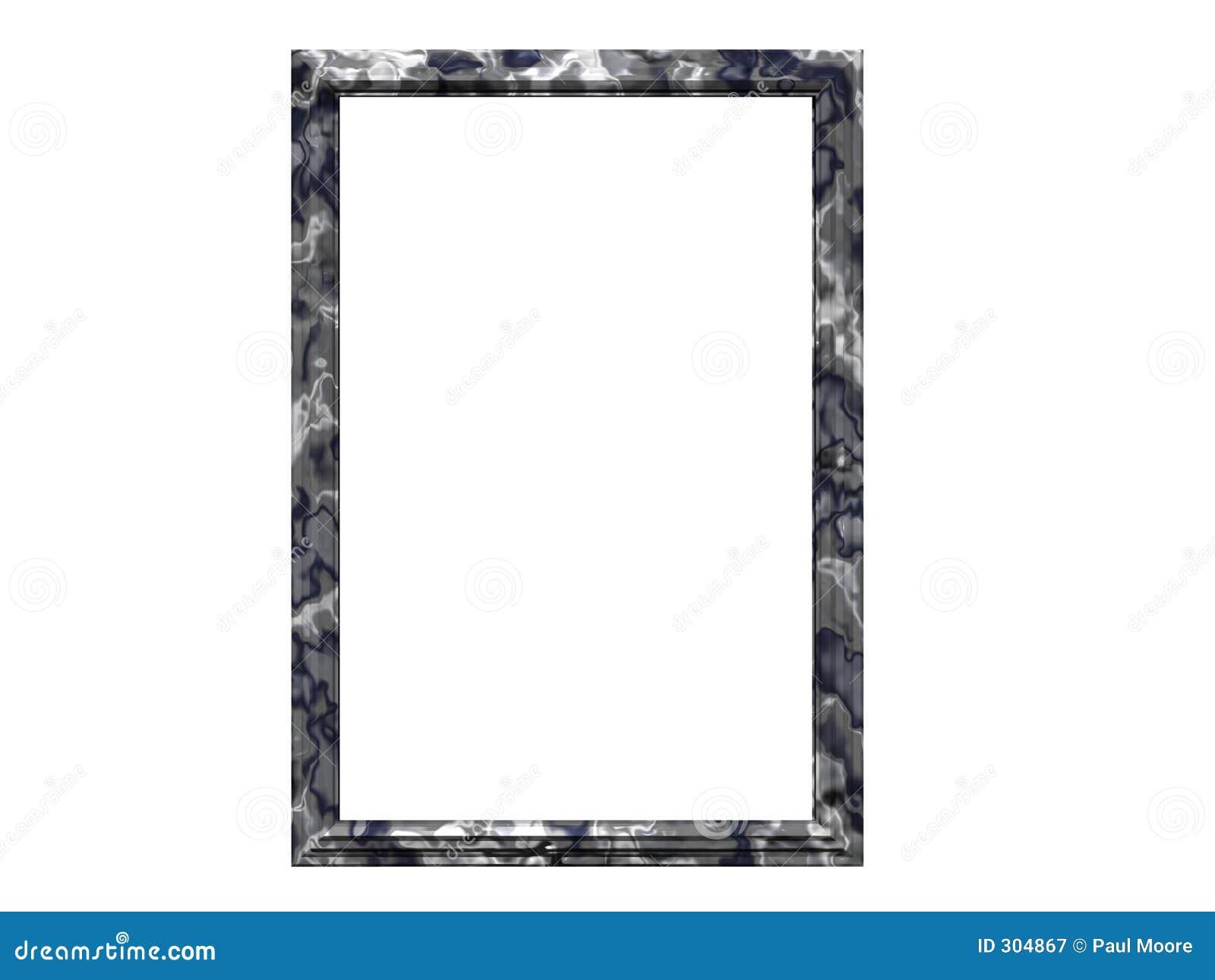 Granit-Bilderrahmen stock abbildung. Illustration von ränder - 304867