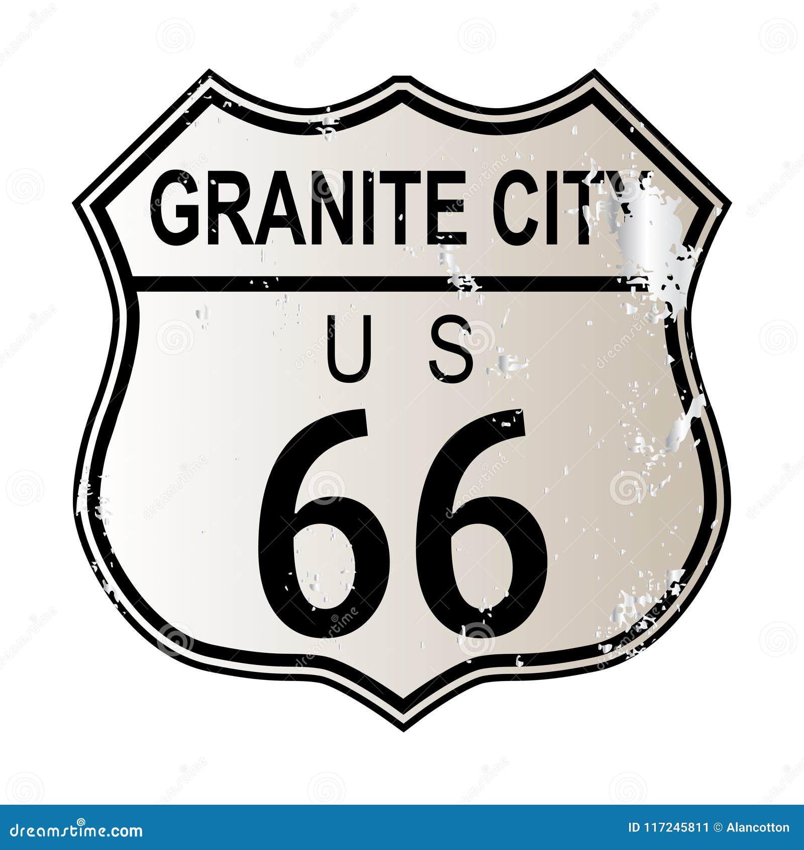 Granit-Stadt Route 66
