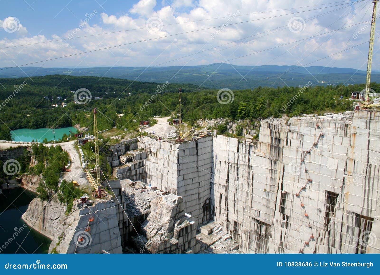 Granit-Steinbruch