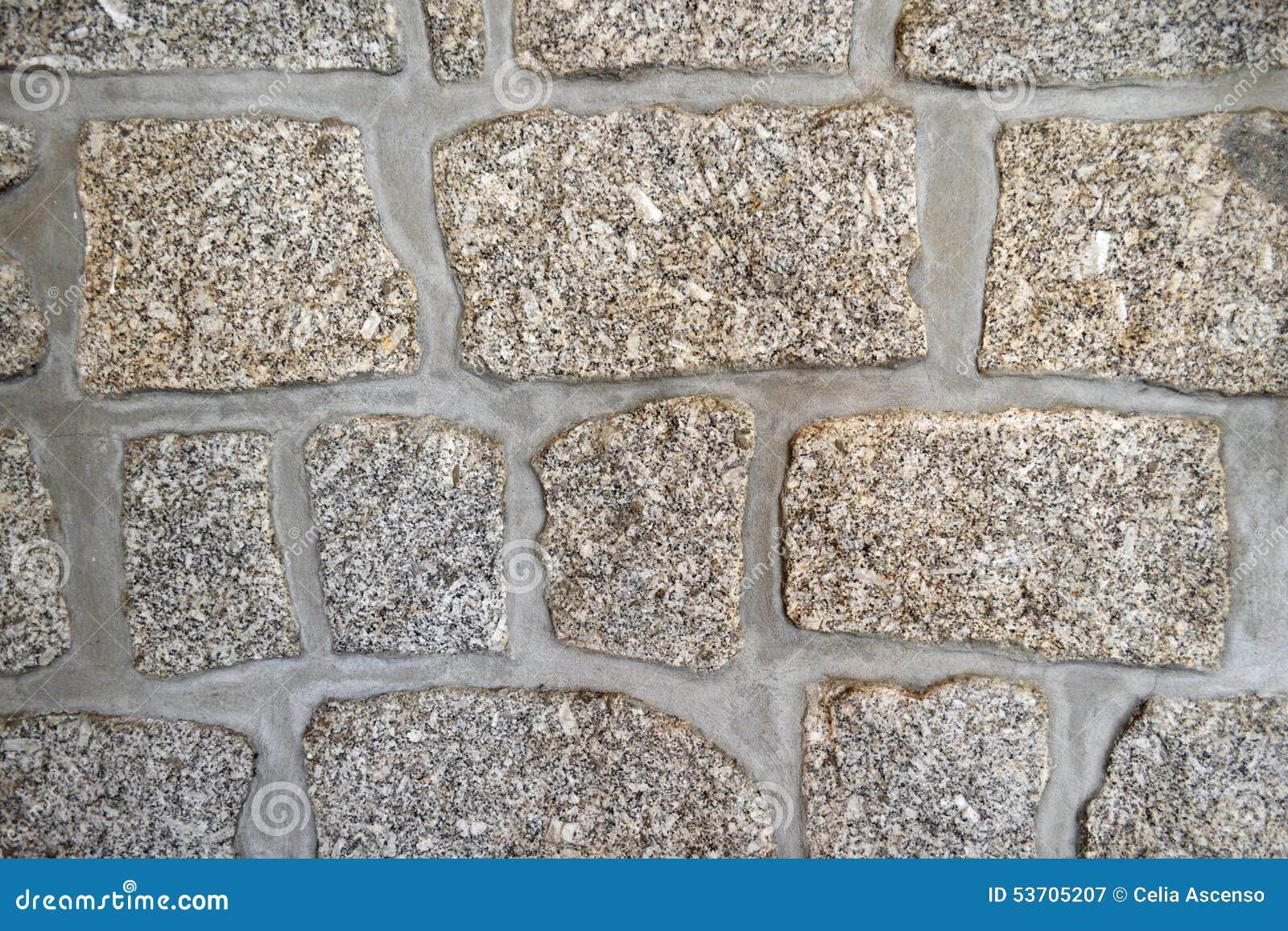 Extremely Large Stone Block : Granite blocks stone wall stock image of build