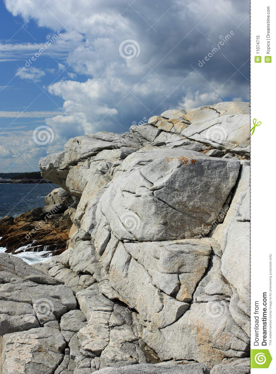 granite formation royalty free stock photo
