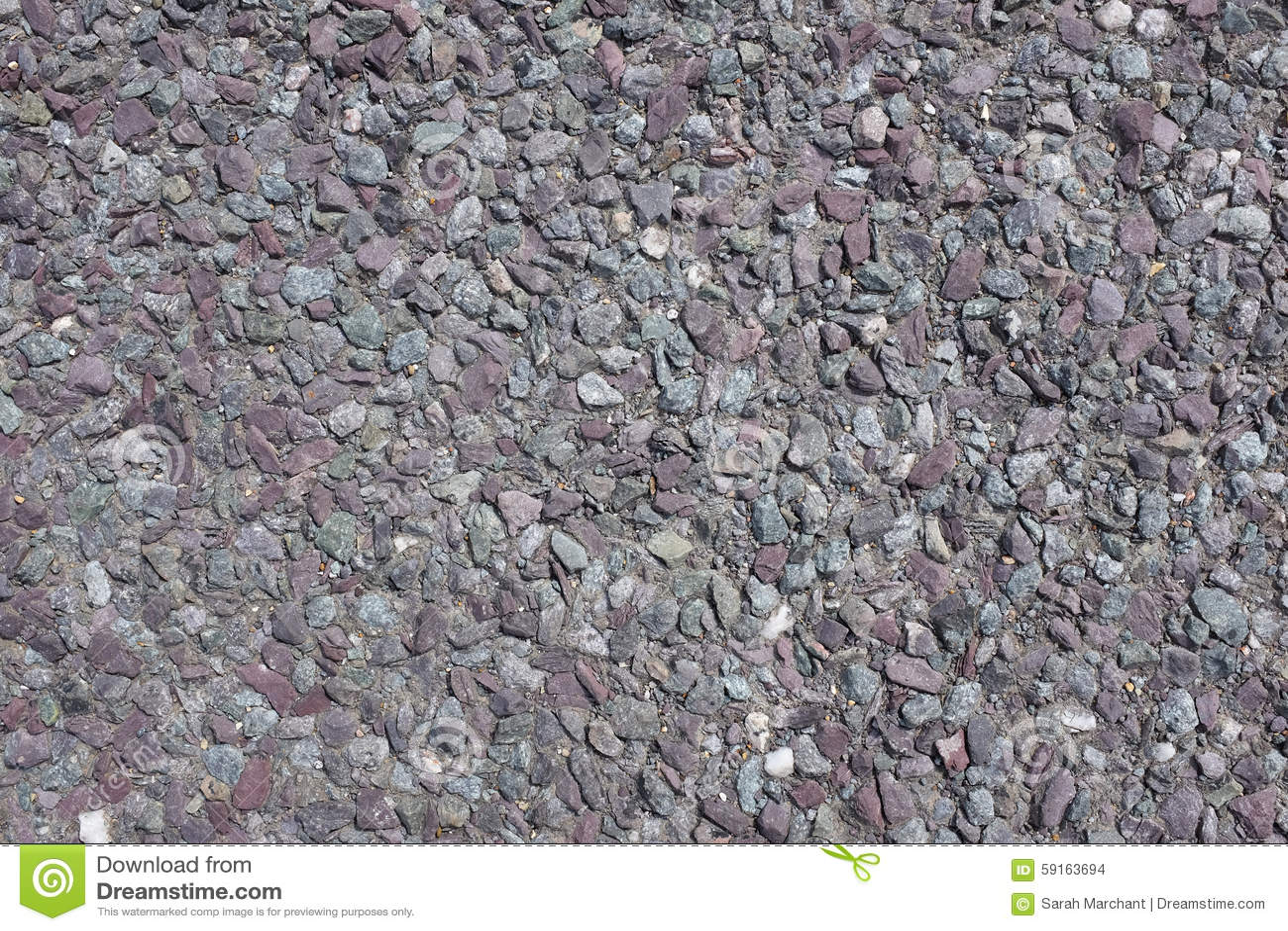 Purple Granite Stone : Granite road stone background stock photo image of path