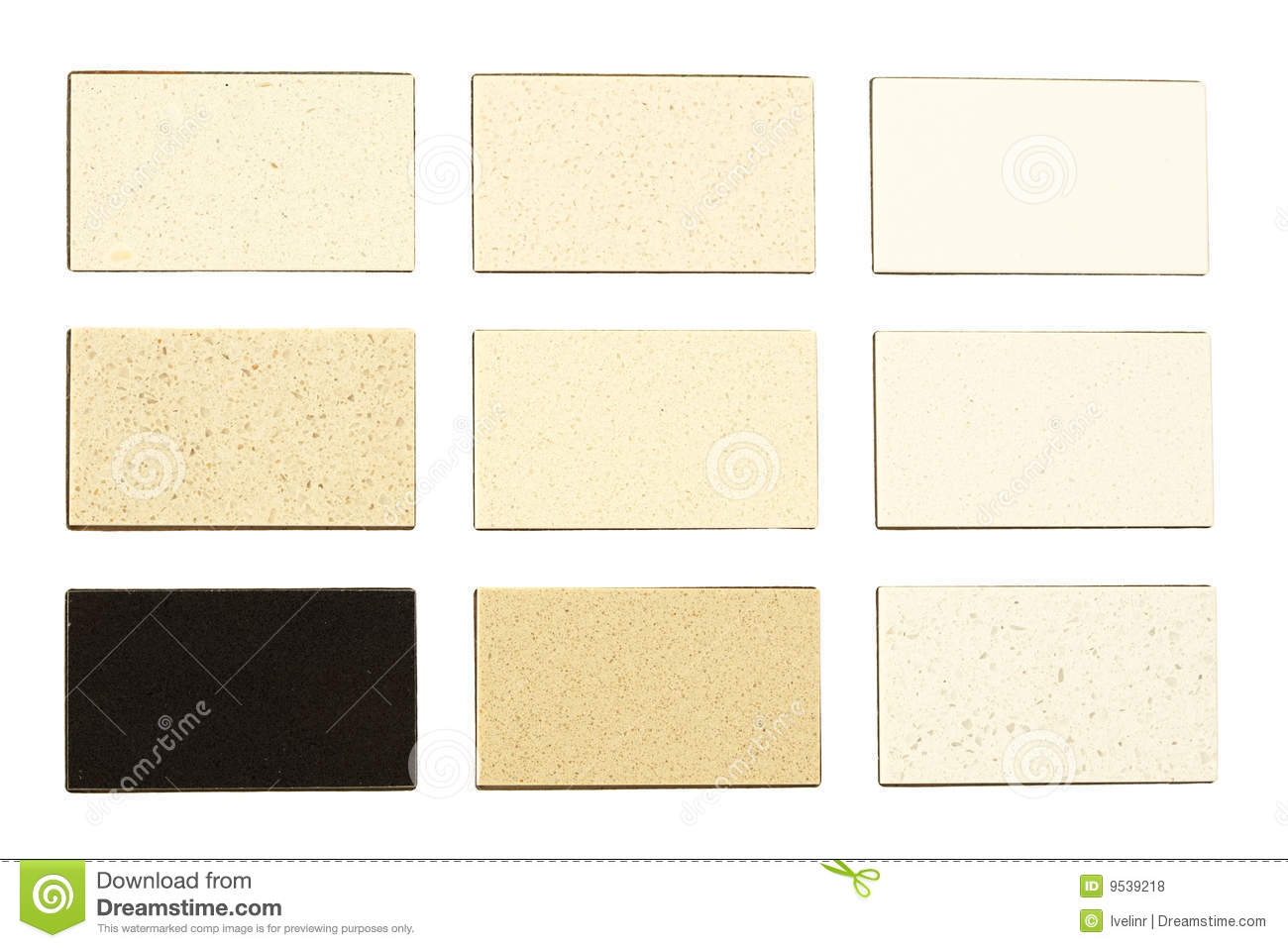 Granite samples for kitchen countertops royalty free stock for Kitchen samples