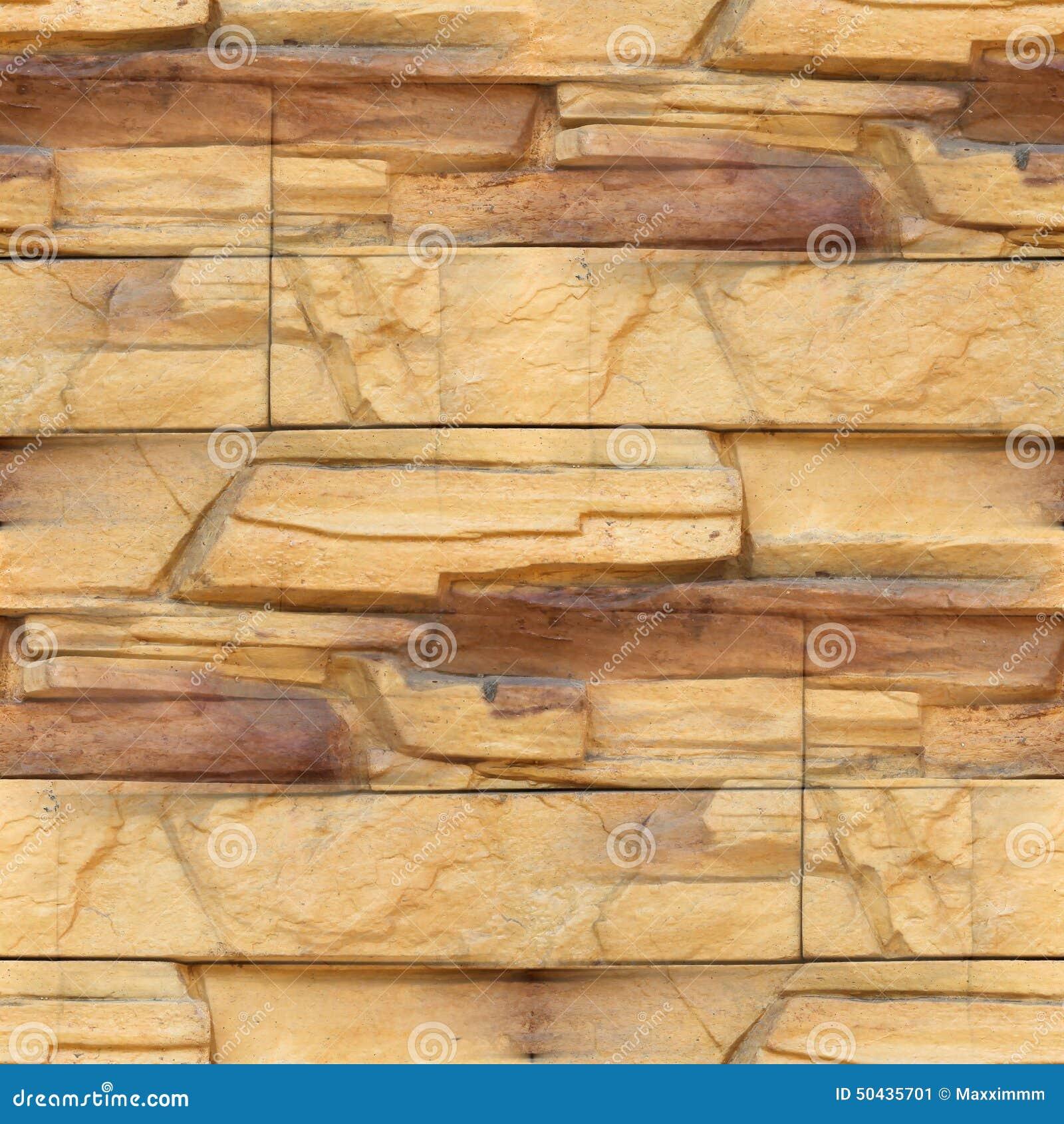 Granite Wallpaper Decorative Brick Wall Seamless Stock Image - Image ...