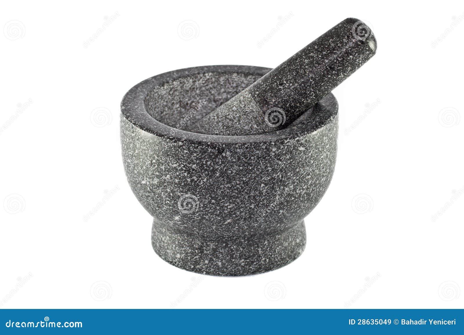 Granitmortel och Pestle