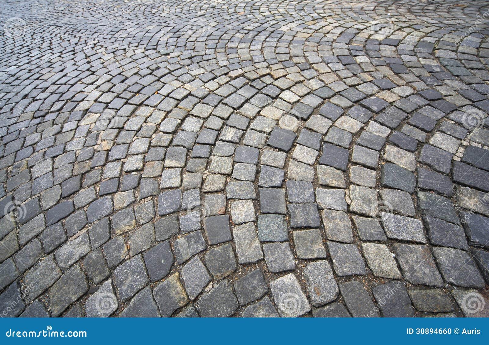 Granitpflasterung stockfoto. Bild von footpath, hintergrund - 30894660