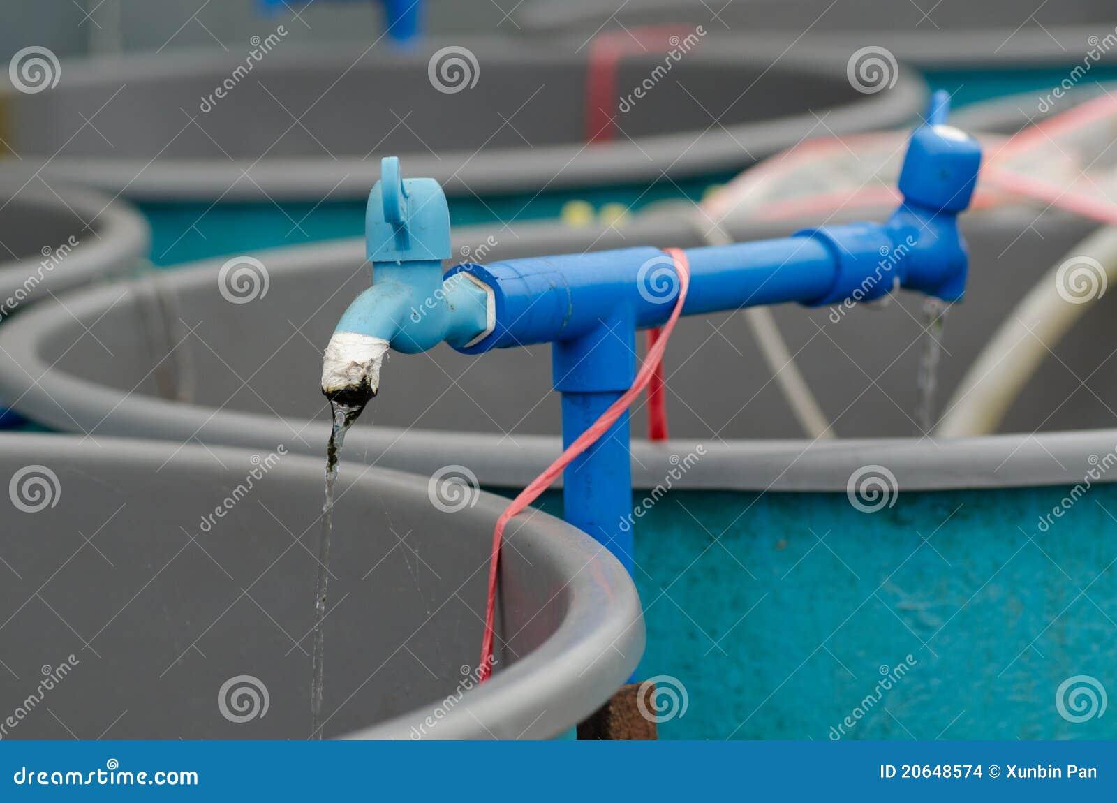 Granja del circuito de agua