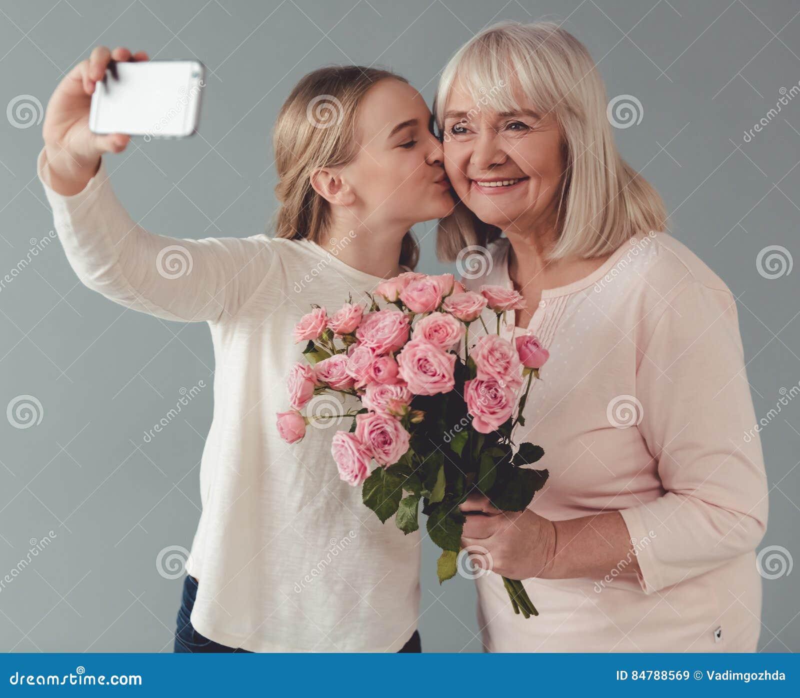 Granny Face Stock Photos