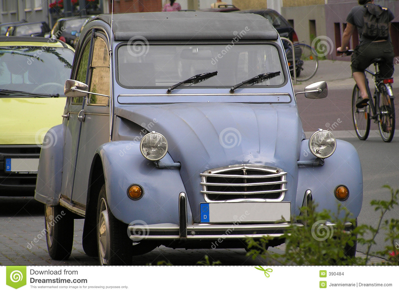 Granny S Car Stock Images Image 390484
