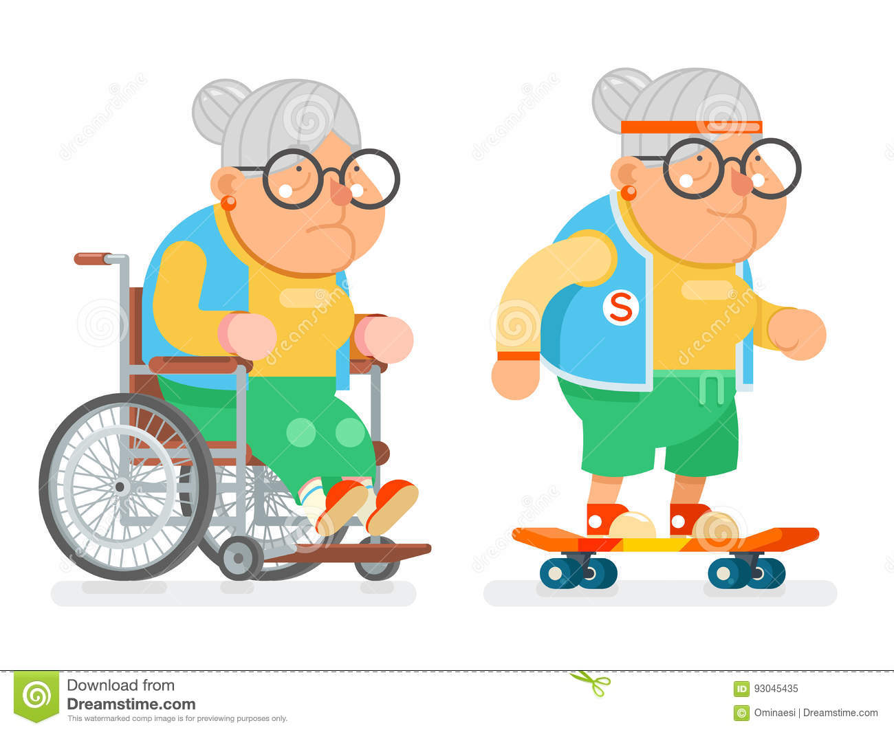 Granny cartoon pics