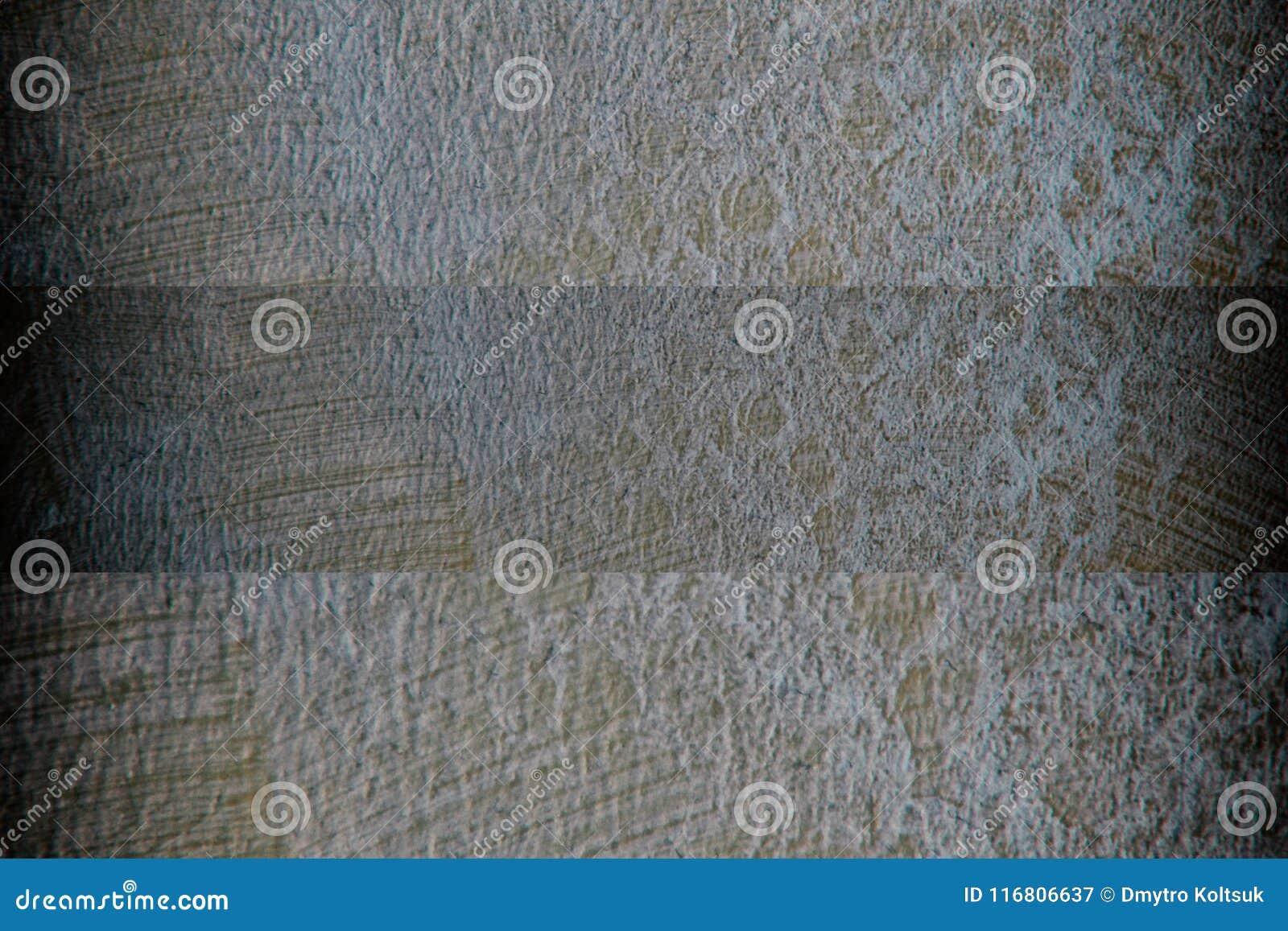 Grano e semplicemente posto urbani di emergenza del fondo di lerciume o della sovrapposizione di struttura della polvere
