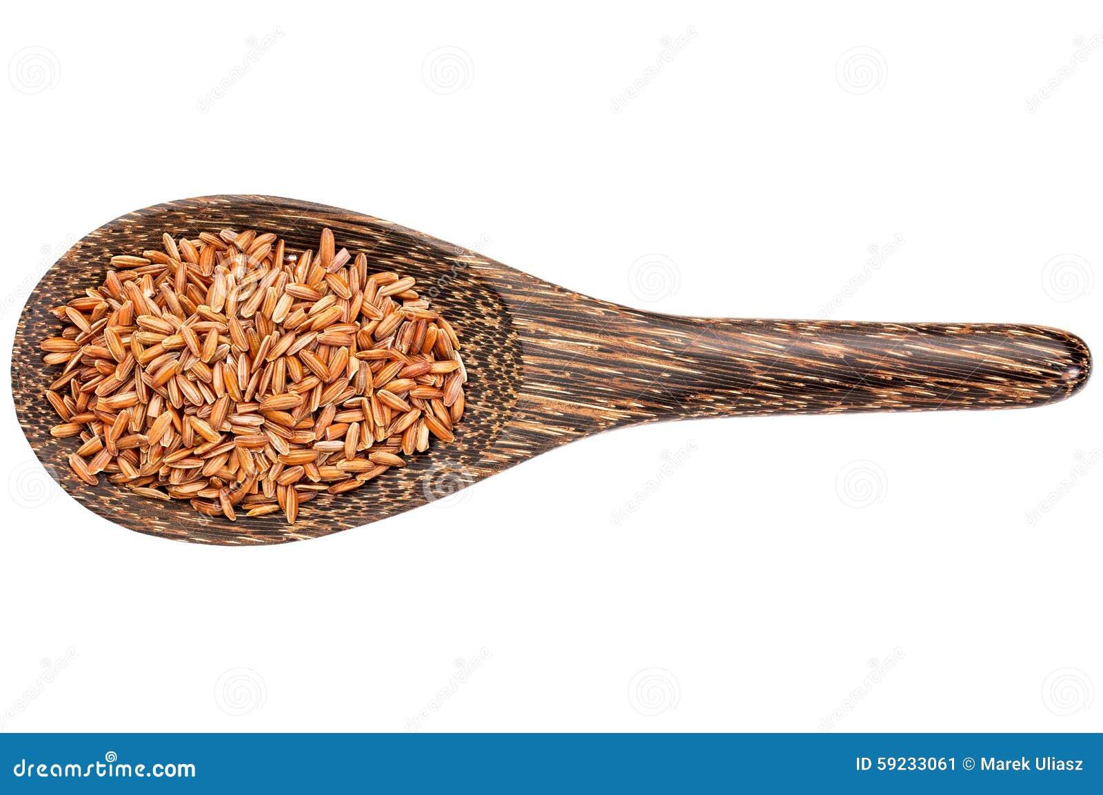 Grano libre del arroz moreno del gluten