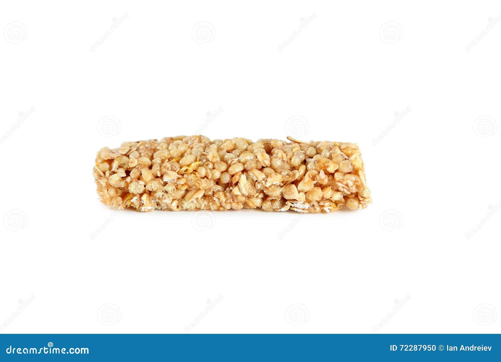 Download Granola штанги предпосылки изолированный над белизной Стоковое Фото - изображение насчитывающей завод, съешьте: 72287950