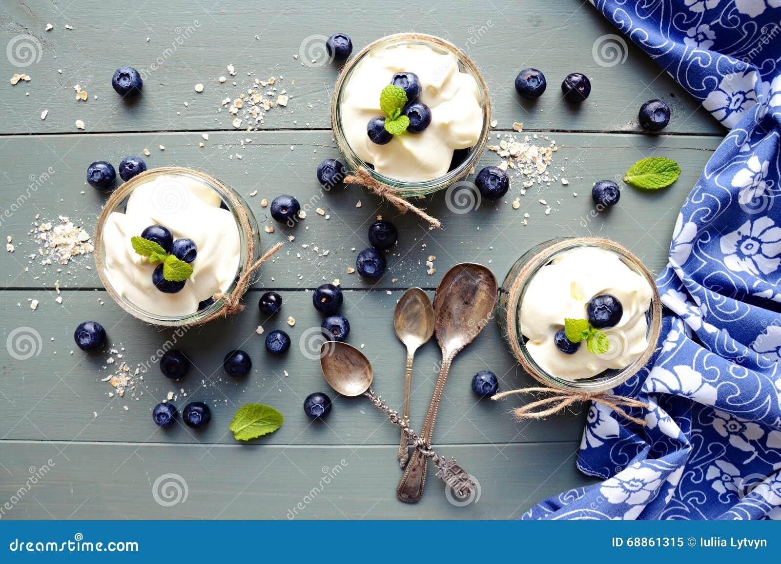 Granola desserts