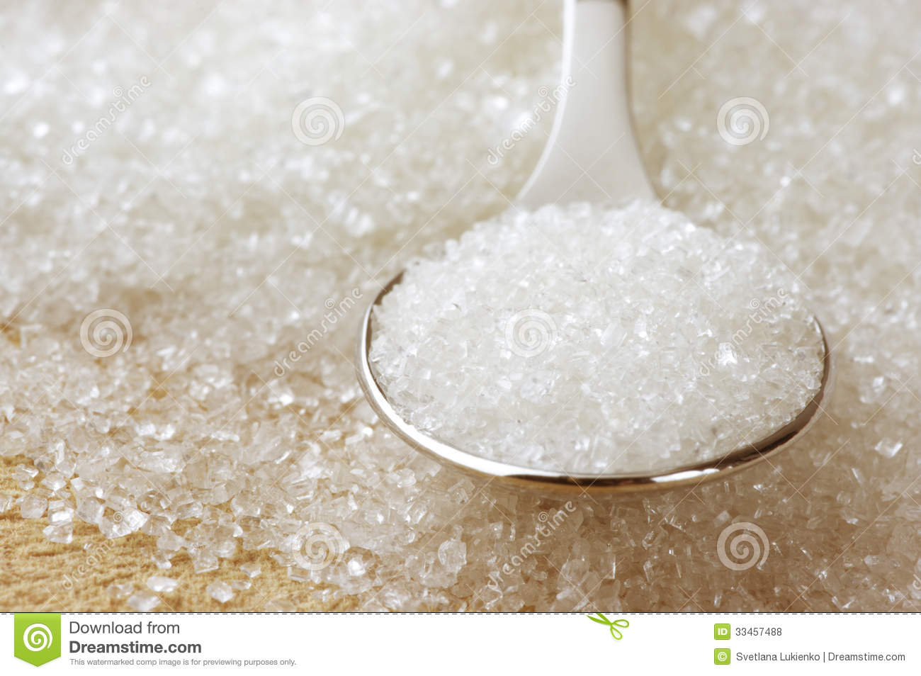 Granulated Sugar Royalty Free Stock Photos - Image: 33457488