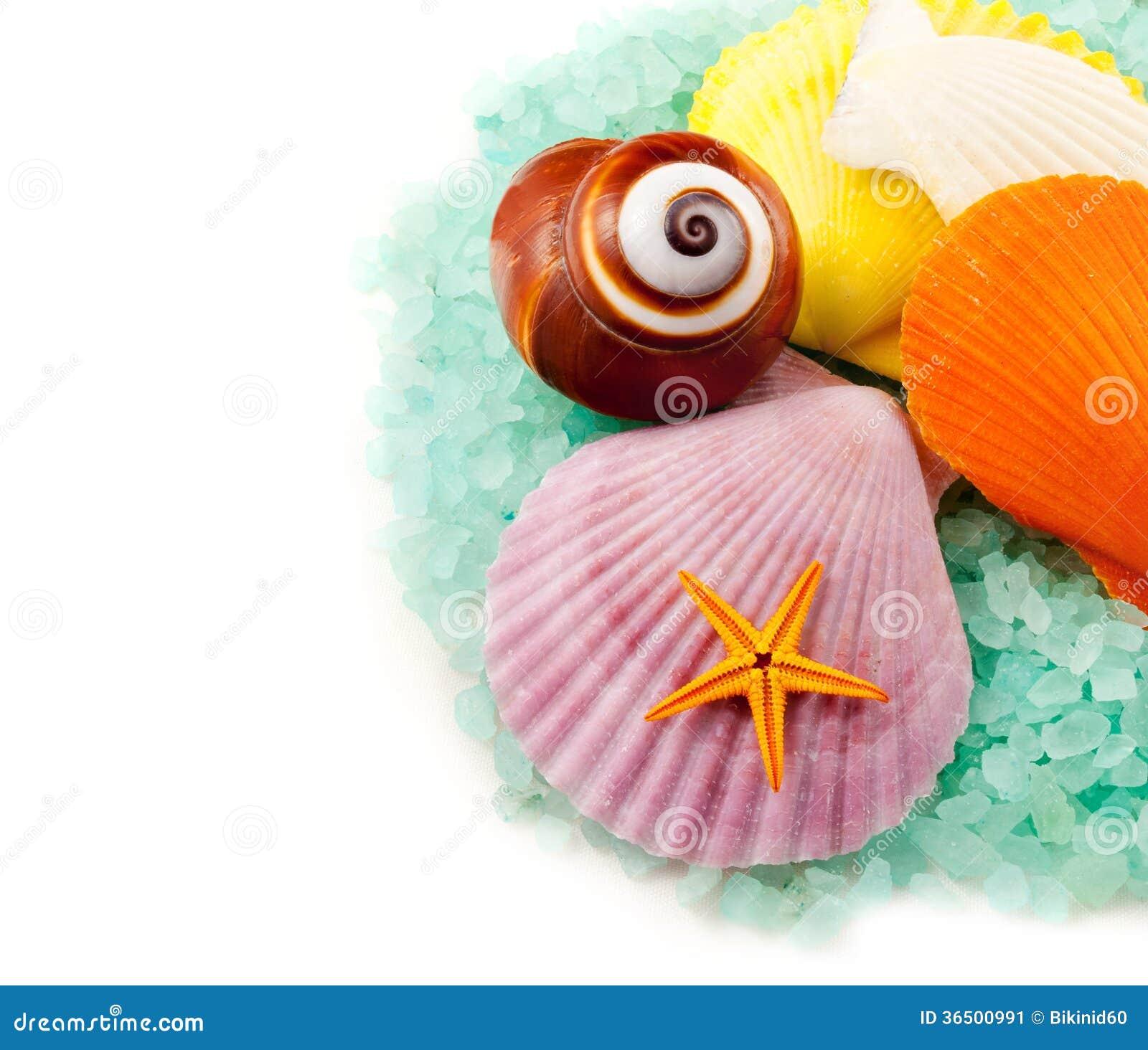 Granules de sel de mer.